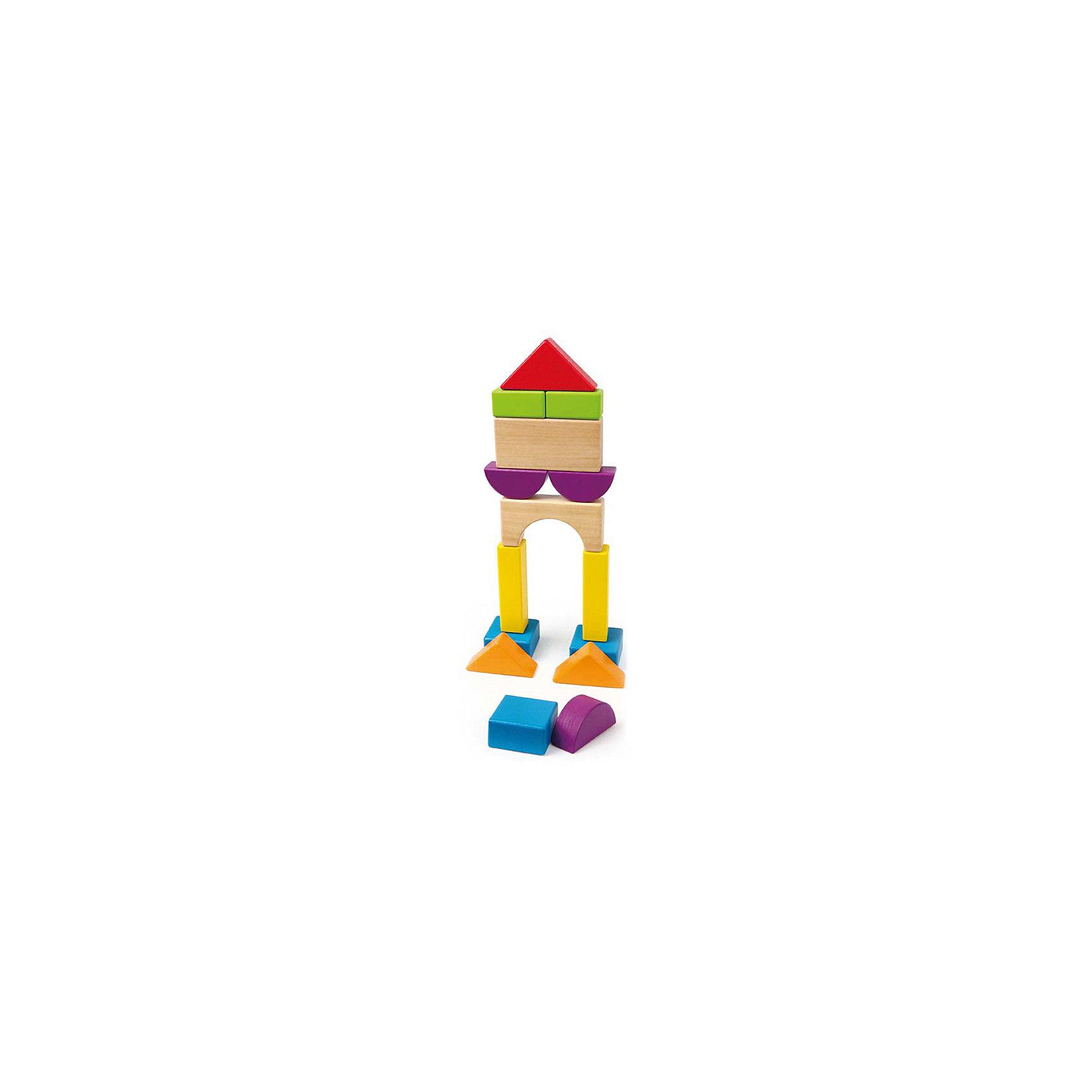 Hape Деревянная игрушка Конструктор, Hape hape деревянная музыкальная игрушка бубен