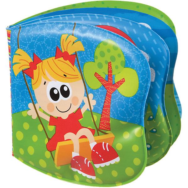 Книжка-пищалка, PlaygroРазвивающие игрушки<br>Водостойкая книжка-пищалка Playgro развеселит малыша во время водных процедур, ведь в ней содержится столько интересного. Страницы книги украшены яркими иллюстрациями. На одной из них находится пищалка, которая развеселит малыша и будет способствовать развитию слухового восприятия.<br><br>Дополнительная информация:<br><br>- Возраст: от 6 месяцев до 3 лет<br>- Материал: пвх-пластизоль<br>- Размер: 18х14х2 см<br>- Вес: 0.04 кг<br><br>Книжку-пищалку, Playgro можно купить в нашем интернет-магазине.<br><br>Ширина мм: 185<br>Глубина мм: 140<br>Высота мм: 20<br>Вес г: 40<br>Возраст от месяцев: 6<br>Возраст до месяцев: 36<br>Пол: Женский<br>Возраст: Детский<br>SKU: 4779536