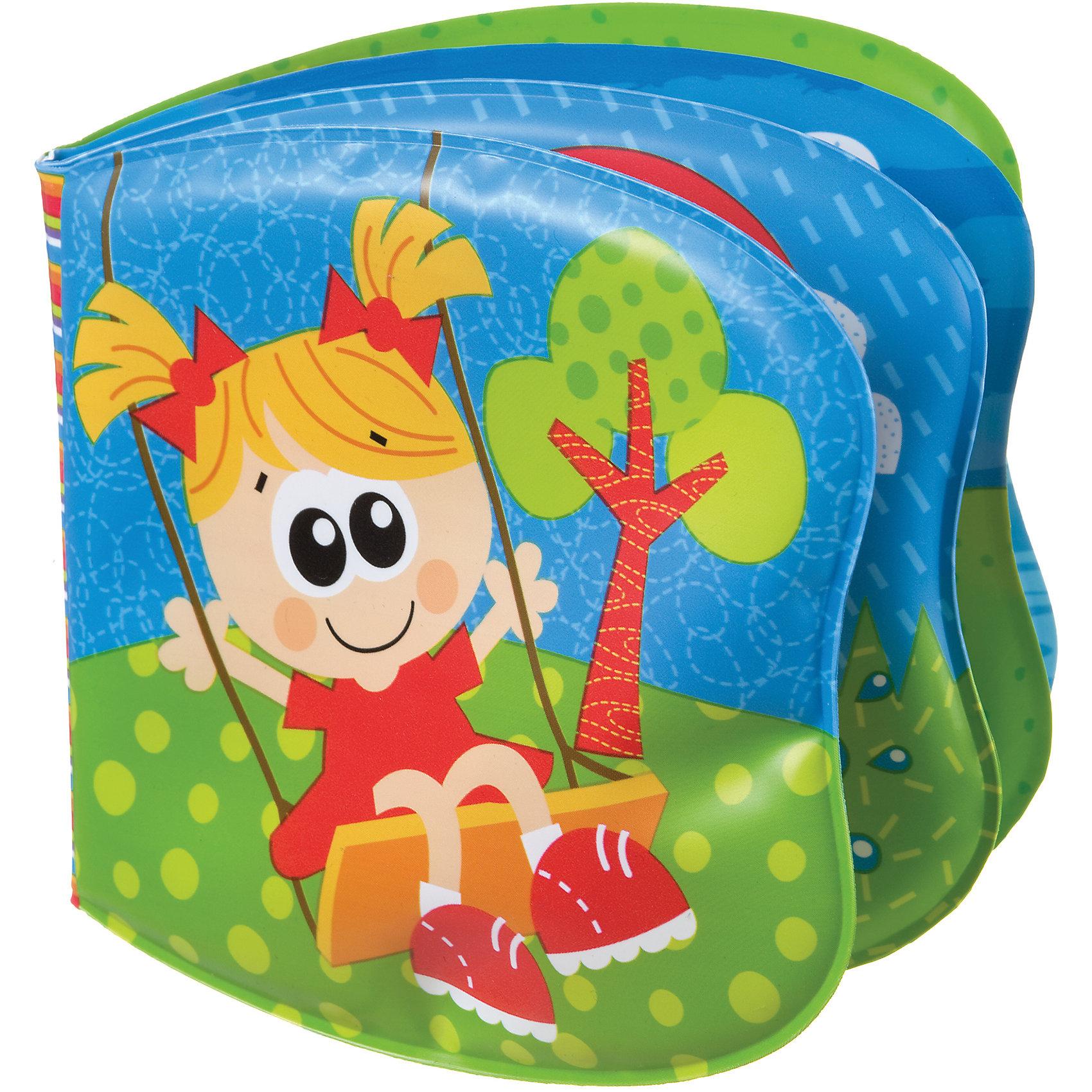 Книжка-пищалка, PlaygroВодостойкая книжка-пищалка Playgro развеселит малыша во время водных процедур, ведь в ней содержится столько интересного. Страницы книги украшены яркими иллюстрациями. На одной из них находится пищалка, которая развеселит малыша и будет способствовать развитию слухового восприятия.<br><br>Дополнительная информация:<br><br>- Возраст: от 6 месяцев до 3 лет<br>- Материал: пвх-пластизоль<br>- Размер: 18х14х2 см<br>- Вес: 0.04 кг<br><br>Книжку-пищалку, Playgro можно купить в нашем интернет-магазине.<br><br>Ширина мм: 185<br>Глубина мм: 140<br>Высота мм: 20<br>Вес г: 40<br>Возраст от месяцев: 6<br>Возраст до месяцев: 36<br>Пол: Женский<br>Возраст: Детский<br>SKU: 4779536