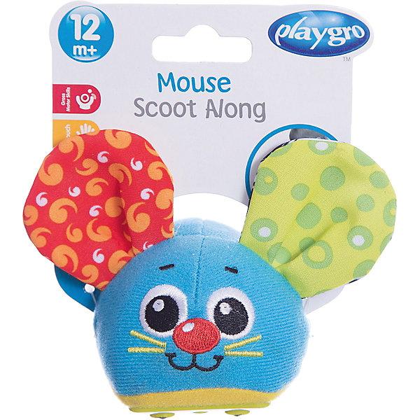 Игрушка инерционная Мышка, PlaygroКаталки и качалки<br>Яркая и симпатичная игрушка Мышка может издавать забавные звуки и вибрировать. Для того чтобы мышка поехала вперед, ее нужно оттянуть и отпустить. Игрушка поможет ребенку развить двигательную активность, а встроенные звуки будут стимулировать слуховое восприятие.<br><br>Дополнительная информация:<br><br>- Возраст: от 6 месяцев до 3 лет<br>- Материал: пластик, текстиль<br>- Размер: 8х7х8 см<br>- Вес: 0.05 кг<br><br>Игрушку инерционную Мышка, Playgro можно купить в нашем интернет-магазине.<br>Ширина мм: 80; Глубина мм: 70; Высота мм: 80; Вес г: 50; Возраст от месяцев: 6; Возраст до месяцев: 36; Пол: Унисекс; Возраст: Детский; SKU: 4779538;