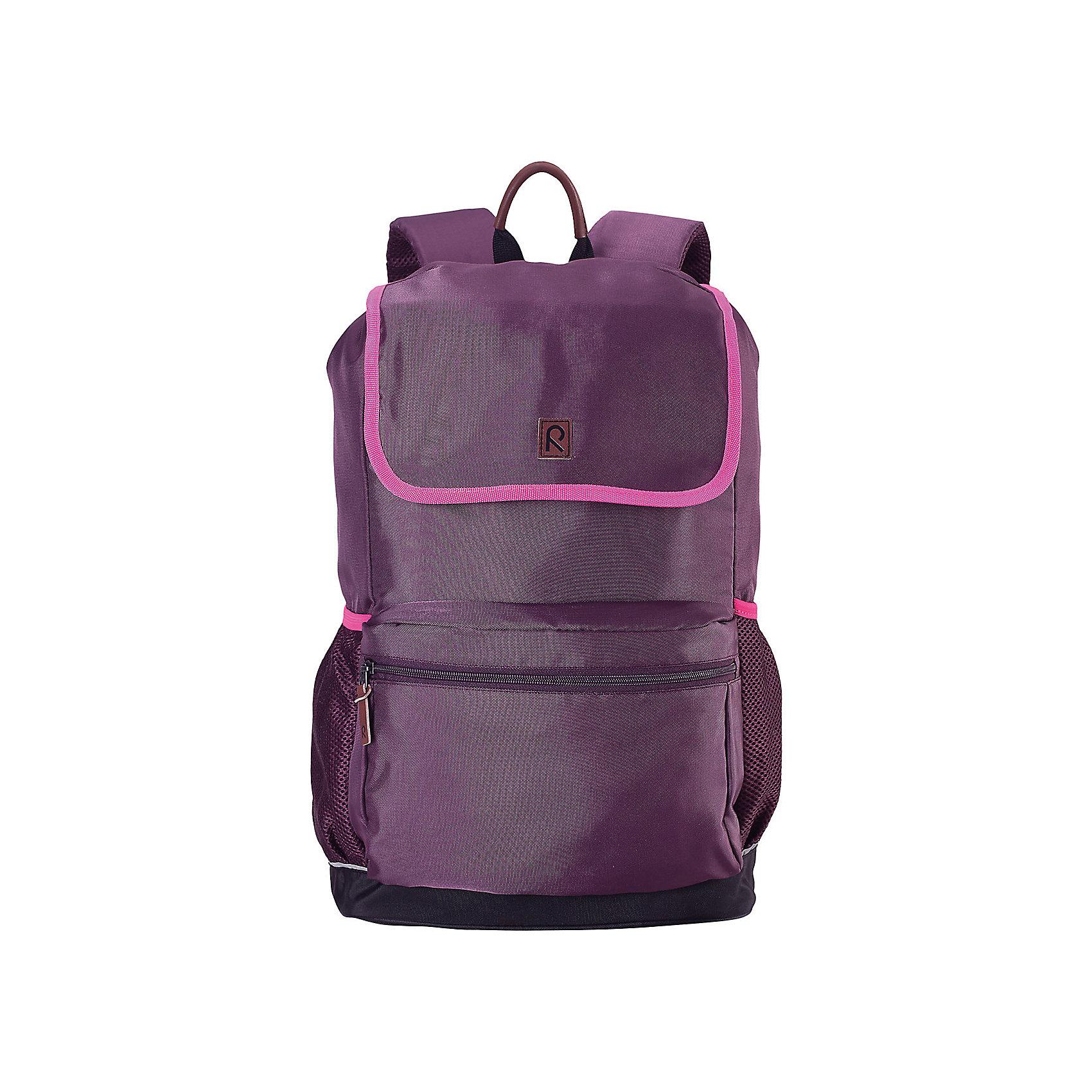 Рюкзак Pakaten для девочки ReimaАксессуары<br>Рюкзак  Reima<br>Рюкзак для детей и подростковВерх из текстиляРазмер L/ 16 л (29 см ? 17 см ? 46 см)Удобные стеганые задние панели способствуют дополнительной амортизацииНапечатанная табличка для имениСъемная нагрудная лямка для распределения весаРегулируемые эргономичные стеганые плечевые ремешкиВодонепроницаемое дноКарман для ноутбукаВозрастные рекомендации: 7+Светоотражающие деталиБез ПХВ<br>Уход:<br>Стирать по отдельности. Стирать моющим средством, не содержащим отбеливающие вещества. Полоскать без специального средства. Сушить при низкой температуре. Деликатная стирка 40° C.<br>Состав:<br>100% ПА, ПУ-покрытие<br><br>Ширина мм: 170<br>Глубина мм: 157<br>Высота мм: 67<br>Вес г: 117<br>Цвет: фиолетовый<br>Возраст от месяцев: 36<br>Возраст до месяцев: 144<br>Пол: Женский<br>Возраст: Детский<br>Размер: one size<br>SKU: 4779572