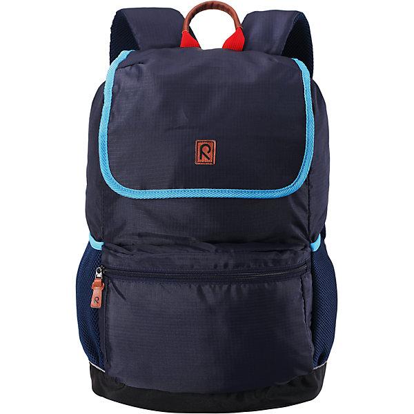Рюкзак Pakaten ReimaАксессуары<br>Характеристики товара:<br><br>• цвет: синий;<br>• материал: 100% полиуретан;<br>• водоотталкивающий материал;<br>• объем: 16 литров;<br>• размер: 29х17х46 см;<br>• эргономичный рюкзак;<br>• застежка: молния, шнурок-утяжка со стопером;<br>• удобные стеганые задние панели способствуют дополнительной амортизации;<br>• напечатанная табличка для имени;<br>• съемная нагрудная лямка для распределения веса;<br>• регулируемые эргономичные стеганые плечевые ремешки;<br>• водонепроницаемое дно;<br>• карман для ноутбука;<br>• не содержит ПВХ;<br>• светоотражающие детали;<br>• страна бренда: Финляндия;<br>• страна изготовитель: Китай.<br><br>Классический рюкзак максимальной функциональности. Он идеально подходит для школьников и студентов, поскольку имеет замечательную эргономичную конструкцию<br><br>Рюкзак Pakaten от финского бренда Reima (Рейма) можно купить в нашем интернет-магазине.<br><br>Ширина мм: 170<br>Глубина мм: 157<br>Высота мм: 67<br>Вес г: 117<br>Цвет: синий<br>Возраст от месяцев: 36<br>Возраст до месяцев: 144<br>Пол: Мужской<br>Возраст: Детский<br>Размер: one size<br>SKU: 4779574