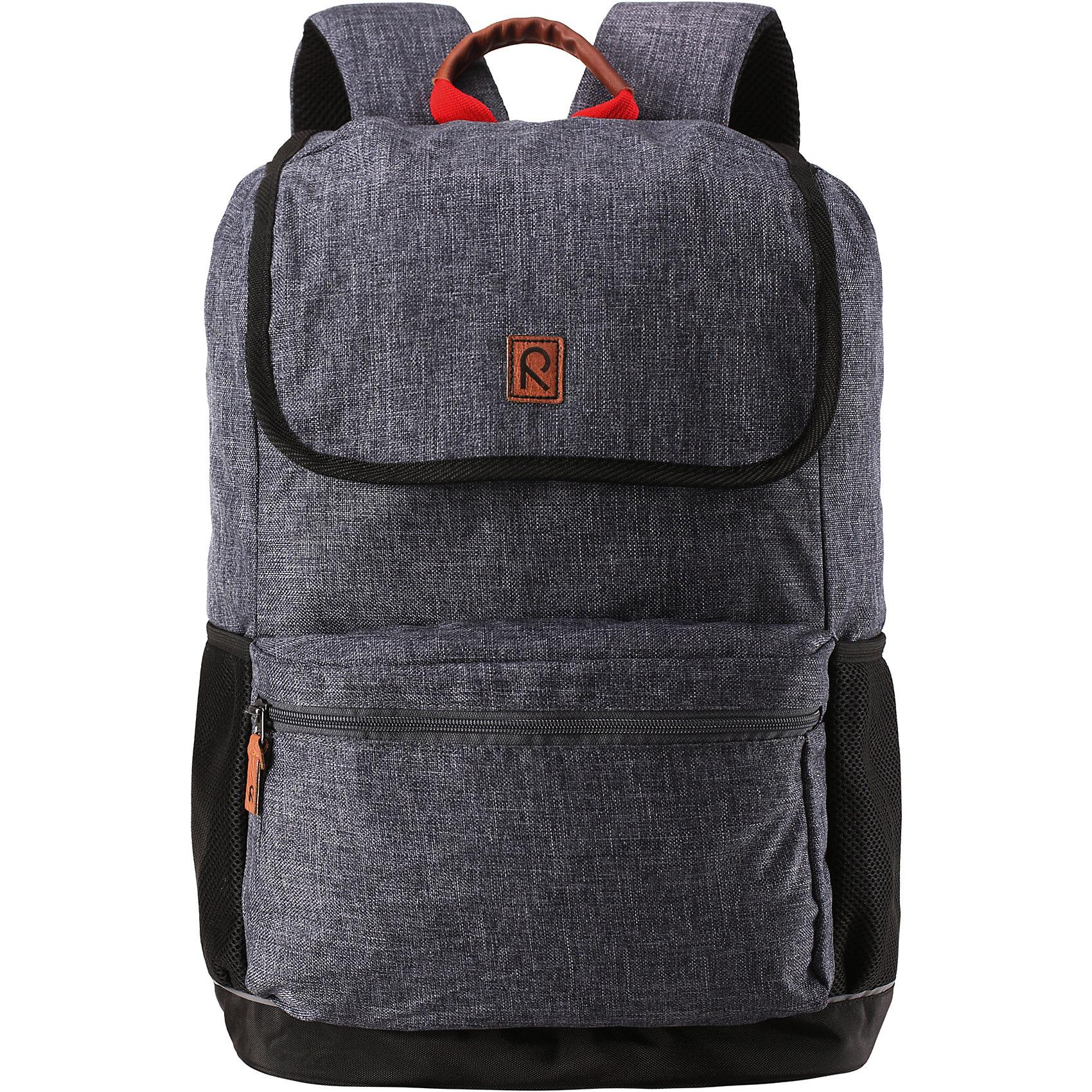 Рюкзак Pakaten ReimaАксессуары<br>Характеристики товара:<br><br>• цвет: серый;<br>• материал: 100% полиуретан;<br>• водоотталкивающий материал;<br>• объем: 16 литров;<br>• размер: 29х17х46 см;<br>• эргономичный рюкзак;<br>• застежка: молния, шнурок-утяжка со стопером;<br>• удобные стеганые задние панели способствуют дополнительной амортизации;<br>• напечатанная табличка для имени;<br>• съемная нагрудная лямка для распределения веса;<br>• регулируемые эргономичные стеганые плечевые ремешки;<br>• водонепроницаемое дно;<br>• карман для ноутбука;<br>• не содержит ПВХ;<br>• светоотражающие детали;<br>• страна бренда: Финляндия;<br>• страна изготовитель: Китай.<br><br>Классический рюкзак максимальной функциональности. Он идеально подходит для школьников и студентов, поскольку имеет замечательную эргономичную конструкцию<br><br>Рюкзак Pakaten от финского бренда Reima (Рейма) можно купить в нашем интернет-магазине.<br><br>Ширина мм: 170<br>Глубина мм: 157<br>Высота мм: 67<br>Вес г: 117<br>Цвет: серый<br>Возраст от месяцев: 36<br>Возраст до месяцев: 144<br>Пол: Мужской<br>Возраст: Детский<br>Размер: one size<br>SKU: 4779576