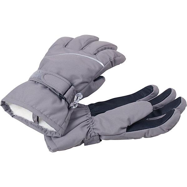 Перчатки Harald ReimaПерчатки, варежки<br>Перчатки  Reima<br>Зимние перчатки для детей. Водонепроницаемый материал, вставки отсутствуют — товар не является водонепроницаемым. Водо- и ветронепроницаемый и грязеотталкивающий материал. Накладки на ладонях, кончиках пальцев и больших пальцах. Теплая ворсистая подкладка из ткани из смеси шерсти. Средняя степень утепления. Простая застежка на липучке. Логотип Reima® сбоку. Светоотражающие полосы.<br>Утеплитель: Reima® Comfortinsulation,80 g<br>Уход:<br>Стирать по отдельности. Стирать моющим средством, не содержащим отбеливающие вещества. Полоскать без специального средства. Сушить при низкой температуре. <br>Состав:<br>100% Полиамид, полиуретановое покрытие<br><br>Ширина мм: 162<br>Глубина мм: 171<br>Высота мм: 55<br>Вес г: 119<br>Цвет: серый<br>Возраст от месяцев: 144<br>Возраст до месяцев: 168<br>Пол: Унисекс<br>Возраст: Детский<br>Размер: 3,4,5,6,7,8<br>SKU: 4779799