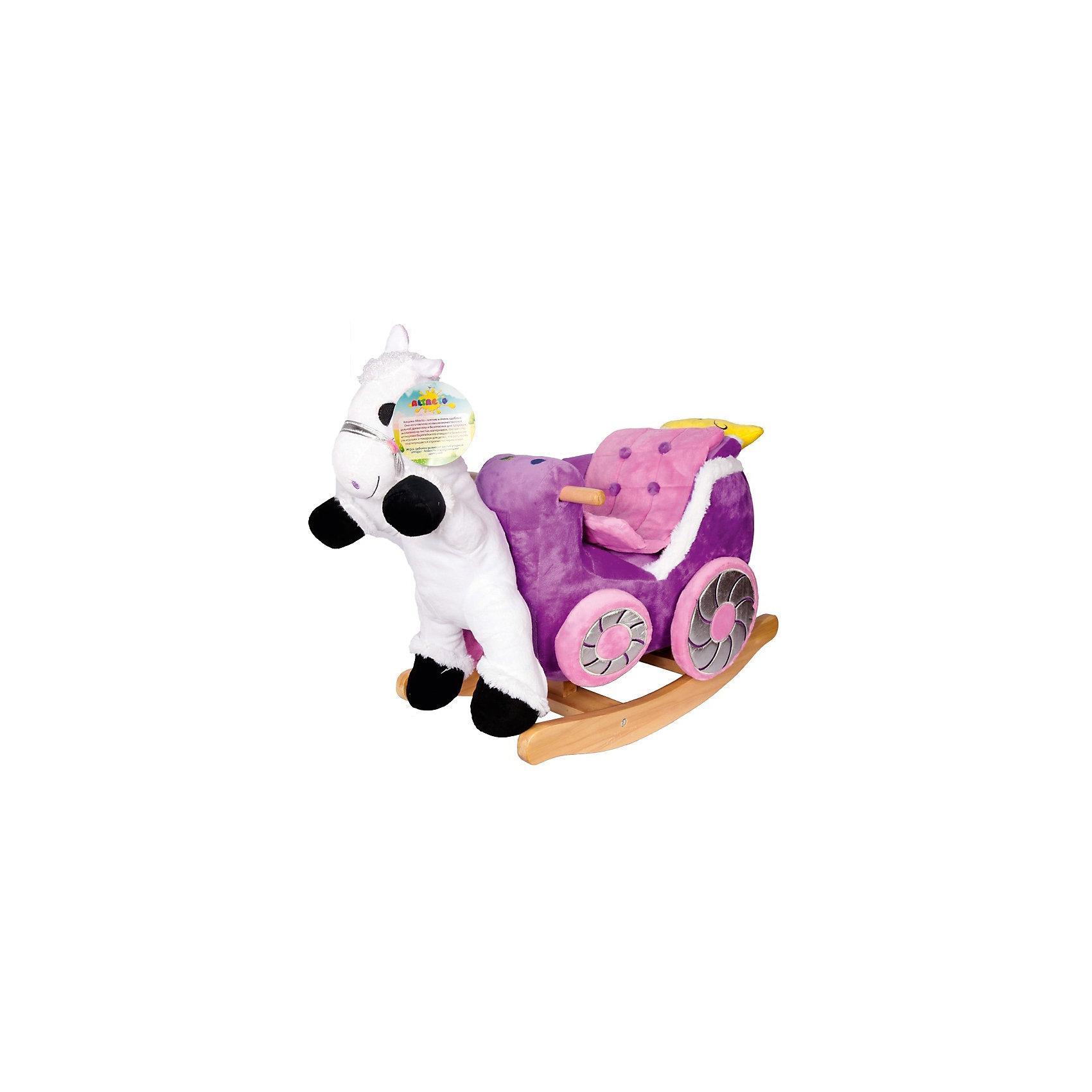 Altacto Качалка Карета принцессы, Altacto altacto игровой набор чистюля сборный со светом и звуком altacto