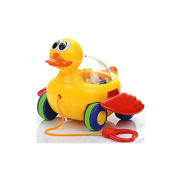 Игрушка на верёвочке Уточка, МалышарикиКаталки и качалки<br>Характеристика:<br><br>- Возраст: от 12 месяцев.<br>- Материал: пластик.<br>- Размер упаковки: 22x20x17 см.<br>- Вес в упаковке: 365 г.<br><br>Такую забавную игрушку очень удобно брать с собой на прогулку, ребенок сможет катить её за собой благодаря удобной верёвочке. <br><br>Игрушка на верёвочке Уточка, Малышарики, можно купить в нашем магазине.<br><br>Ширина мм: 220<br>Глубина мм: 200<br>Высота мм: 175<br>Вес г: 600<br>Возраст от месяцев: 12<br>Возраст до месяцев: 36<br>Пол: Унисекс<br>Возраст: Детский<br>SKU: 4779840