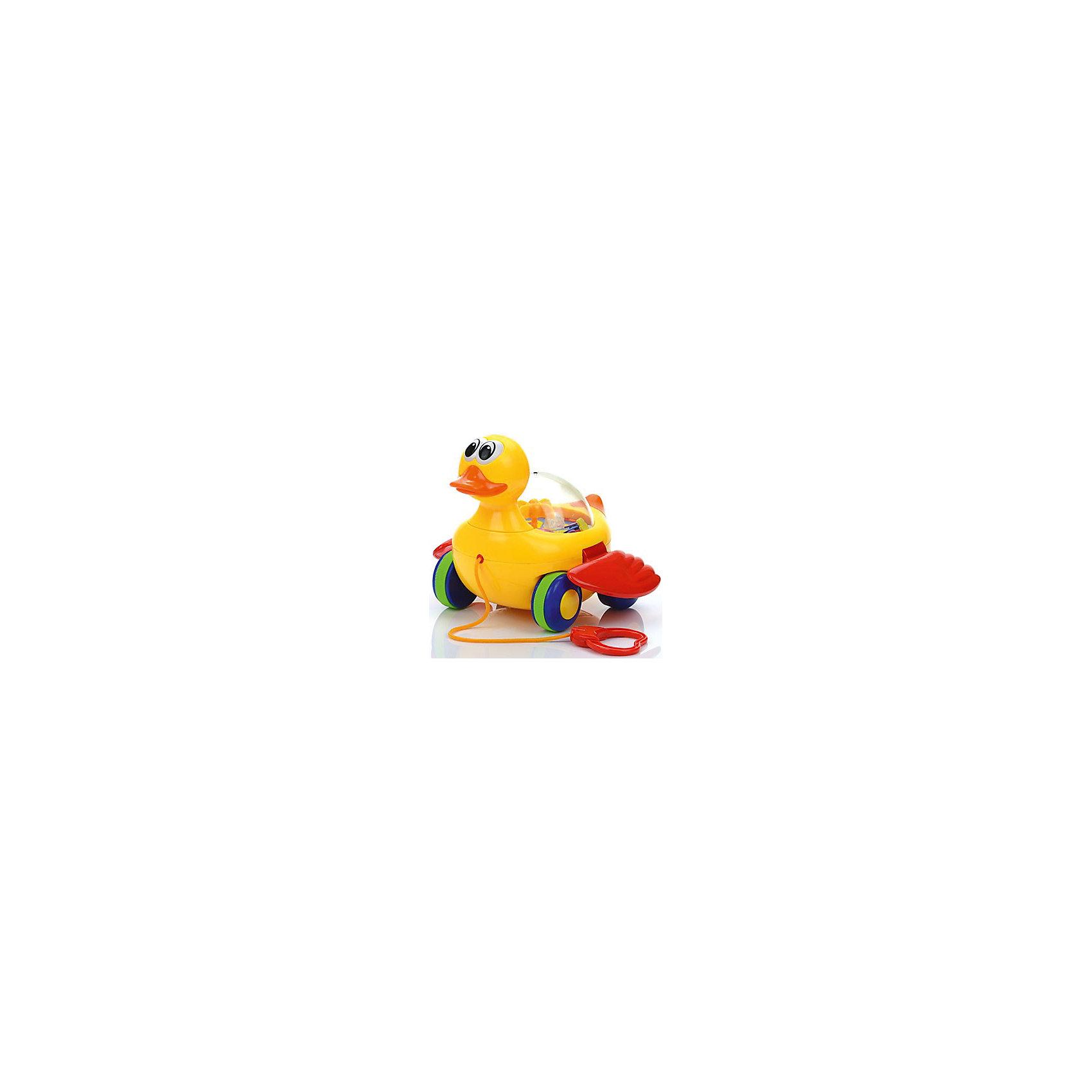 Игрушка на верёвочке Уточка, МалышарикиХарактеристика:<br><br>- Возраст: от 12 месяцев.<br>- Материал: пластик.<br>- Размер упаковки: 22x20x17 см.<br>- Вес в упаковке: 365 г.<br><br>Такую забавную игрушку очень удобно брать с собой на прогулку, ребенок сможет катить её за собой благодаря удобной верёвочке. <br><br>Игрушка на верёвочке Уточка, Малышарики, можно купить в нашем магазине.<br><br>Ширина мм: 220<br>Глубина мм: 200<br>Высота мм: 175<br>Вес г: 600<br>Возраст от месяцев: 12<br>Возраст до месяцев: 36<br>Пол: Унисекс<br>Возраст: Детский<br>SKU: 4779840