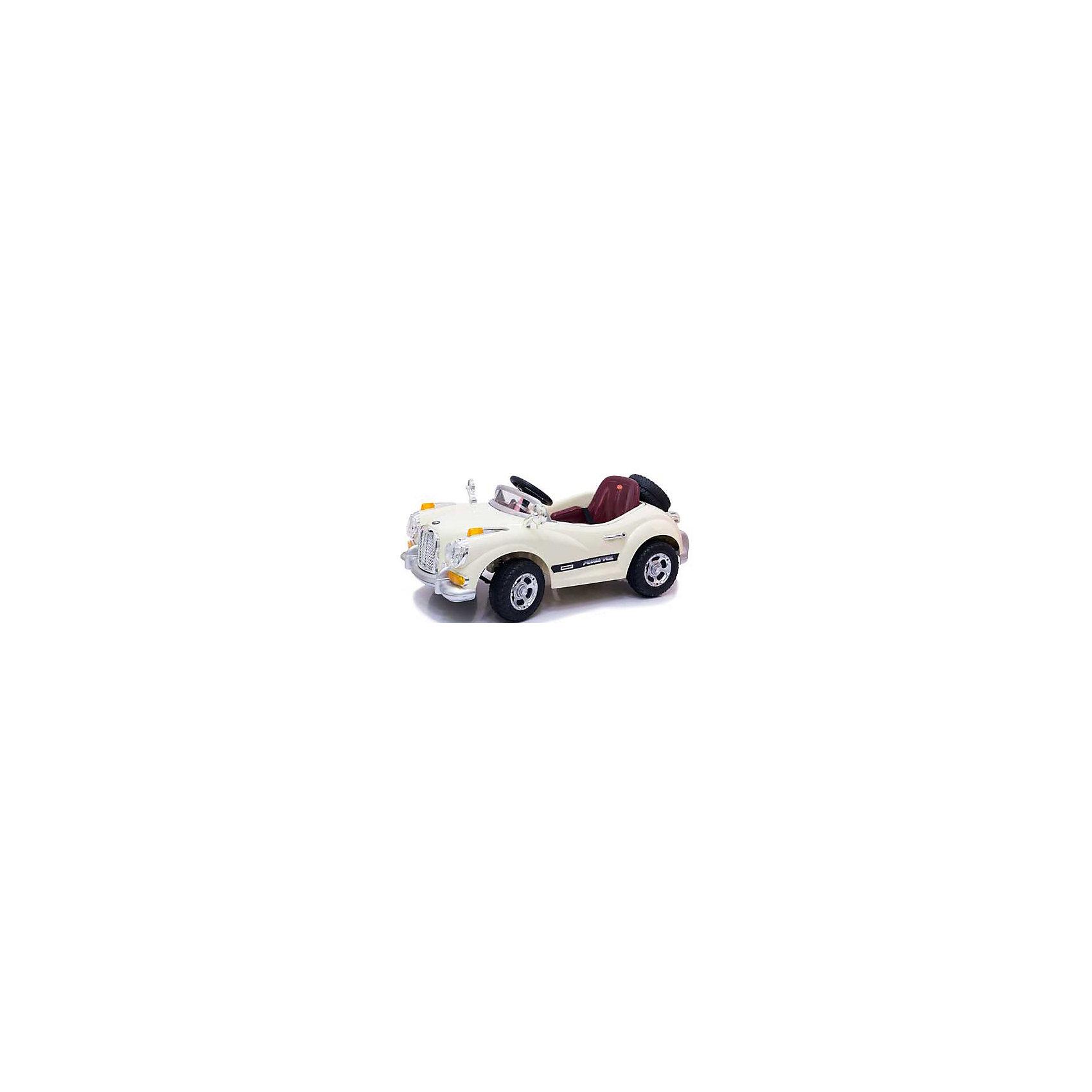 Электромобиль Limousine, бежевый, Jetem