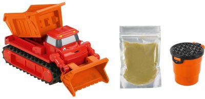 Mattel Транспортное Средство С Кинетическим Песком Fisher-Price Боб-Строитель Мак