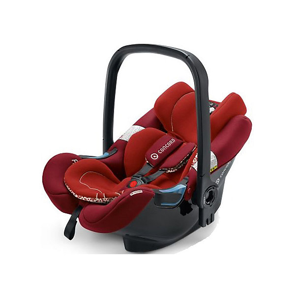 Автокресло Concord Air.Safe, 0-13кг, Tomato RedГруппа 0+  (до 13 кг)<br>Характеристики автокресла:<br><br>• группа автокресла: 0+ ;<br>• возраст ребенка: от рождения до года;<br>• вес ребенка: до 13 кг;<br>• способ установки: против хода движения автомобиля;<br>• способ крепления: база Isofix или при помощи ремней безопасности;<br>• автокресло может быть установлено на рамы колясок от Concord серий Fusion и Neo;<br>• кнопка системы TS упрощает процесс установки кресла на базу или шасси коляски;<br>• победитель краш-тестов 2014 ADAC.<br><br>Особенности автокресла:<br><br>• высокие боковины для защиты от боковых ударов;<br>• подголовник эргономической формы регулируется в 3-х положениях по высоте;<br>• регулировка ручки для переноски;<br>• мягкий, дышащий гипоаллергенный материал;<br>• съемные чехлы, можно стирать при 30С.<br><br>Размеры:<br><br>• размер автокресла 63х44х57 см;<br>• вес автокрела: 2,9 кг;<br>• размер упаковки: 35х68х45 см;<br>• вес в упаковке: 4,5 кг.<br><br>Дополнительная комплектация:<br><br>• козырек от солнечных лучей;<br>• двухсторонний вкладыш для новорожденного;<br>• адаптер для установки автокресла на коляски с унифицированным креплением Maxi-Cosi.<br><br>Автокресло Air.Safe, 0-13 кг., Concord, Tomato Red можно купить в нашем интернет-магазине.<br><br>Ширина мм: 350<br>Глубина мм: 450<br>Высота мм: 680<br>Вес г: 4500<br>Цвет: красный<br>Возраст от месяцев: 0<br>Возраст до месяцев: 18<br>Пол: Унисекс<br>Возраст: Детский<br>SKU: 4779872