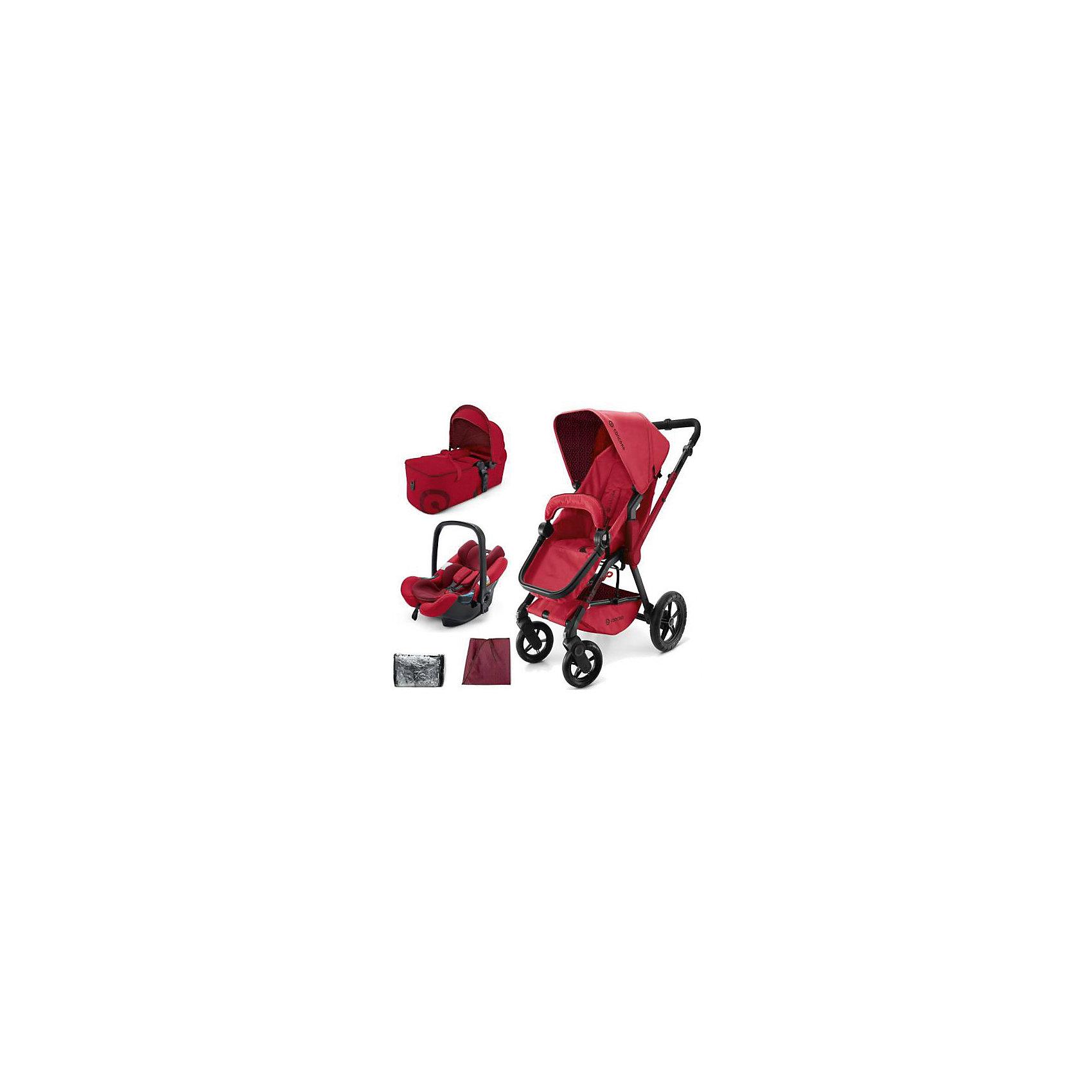 Concord Коляска 3 в 1 Wanderer Mobility Set, Concord, Ruby Red 2015 все цены