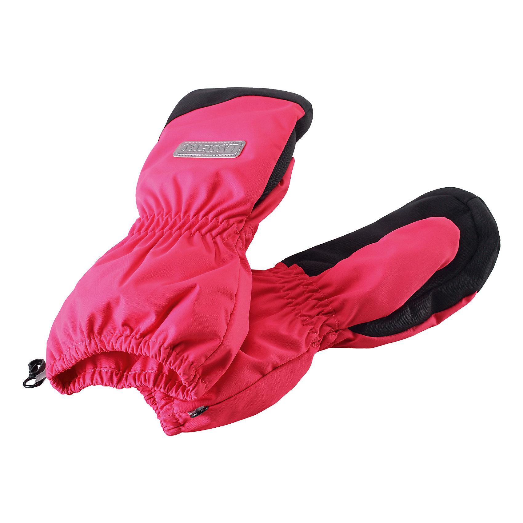 Варежки LASSIEПерчатки, варежки<br>Зимние варежки для детей Lassietec®.<br><br>- Водонепроницаемая вставка. Водо- и ветронепроницаемый «дышащий» материал. <br>- Накладки на ладонях и больших пальцах. <br>- Подкладка из полиэстера с начесом. <br>- Средняя степень утепления.<br>- Светоотражающая эмблема Lassie®. <br><br> Рекомендации по уходу: Полоскать без специального средства. Сушить при низкой температуре.<br><br>Состав: 86% Полиэстер, 12% полиуретановое покрытие, 2% эластан.<br><br>Ширина мм: 162<br>Глубина мм: 171<br>Высота мм: 55<br>Вес г: 119<br>Цвет: розовый<br>Возраст от месяцев: 120<br>Возраст до месяцев: 144<br>Пол: Женский<br>Возраст: Детский<br>Размер: 6,3,4,5<br>SKU: 4780548