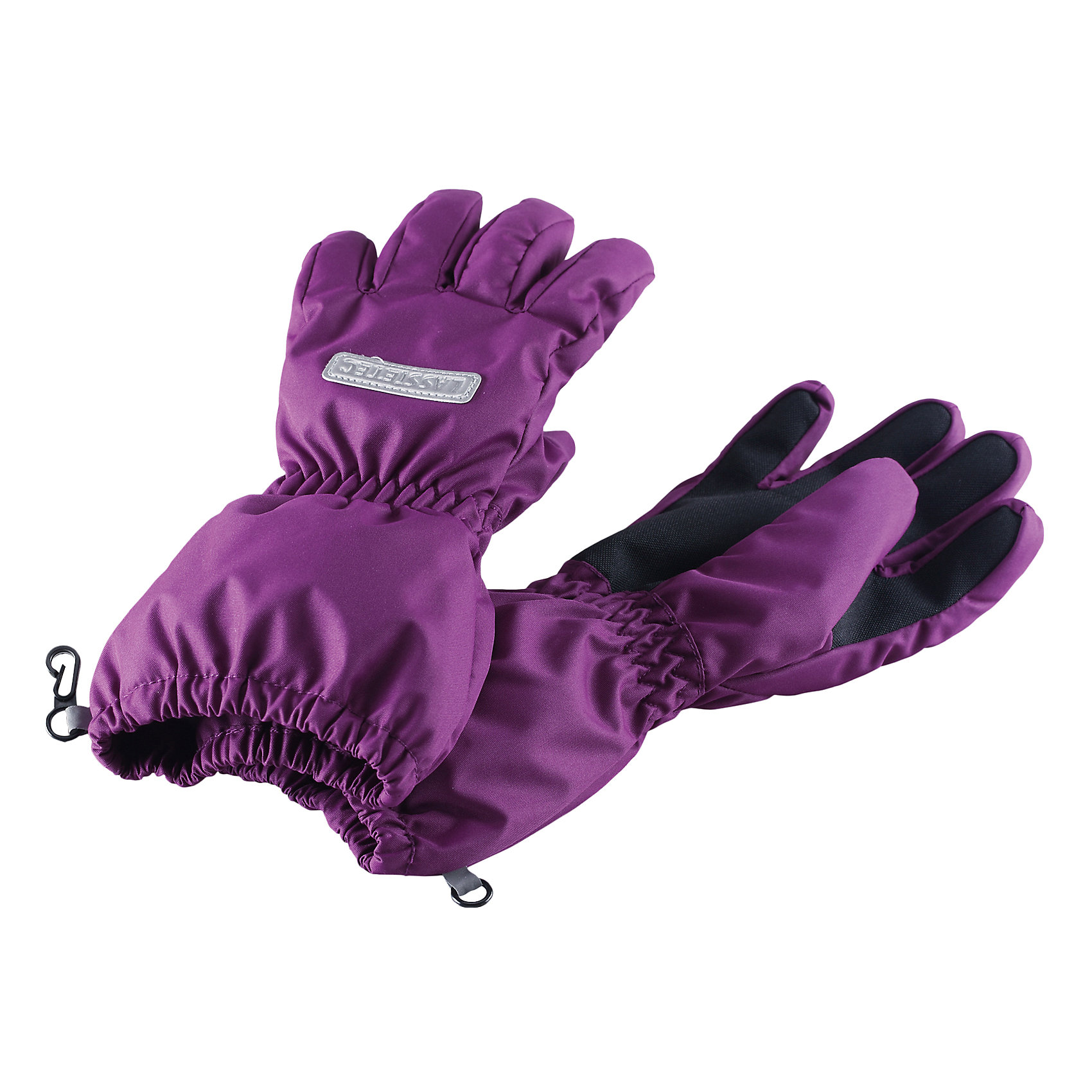 Перчатки LASSIEЗимние перчатки для детей Lassietec®.<br><br>- Водонепроницаемая вставка. Водо- и ветронепроницаемый «дышащий» материал. <br>- Накладки на ладонях и больших пальцах.<br>- Подкладка из полиэстера с начесом.<br>- Средняя степень утепления. <br>- Светоотражающая эмблема Lassie®.  <br><br>Рекомендации по уходу: Полоскать без специального средства. Сушить при низкой температуре. <br><br>Состав: 100% Полиамид, полиуретановое покрытие.  Утеплитель «Lassie wadding» 120гр.<br><br>Ширина мм: 162<br>Глубина мм: 171<br>Высота мм: 55<br>Вес г: 119<br>Цвет: фиолетовый<br>Возраст от месяцев: 48<br>Возраст до месяцев: 72<br>Пол: Женский<br>Возраст: Детский<br>Размер: 4,6,3,5<br>SKU: 4780568