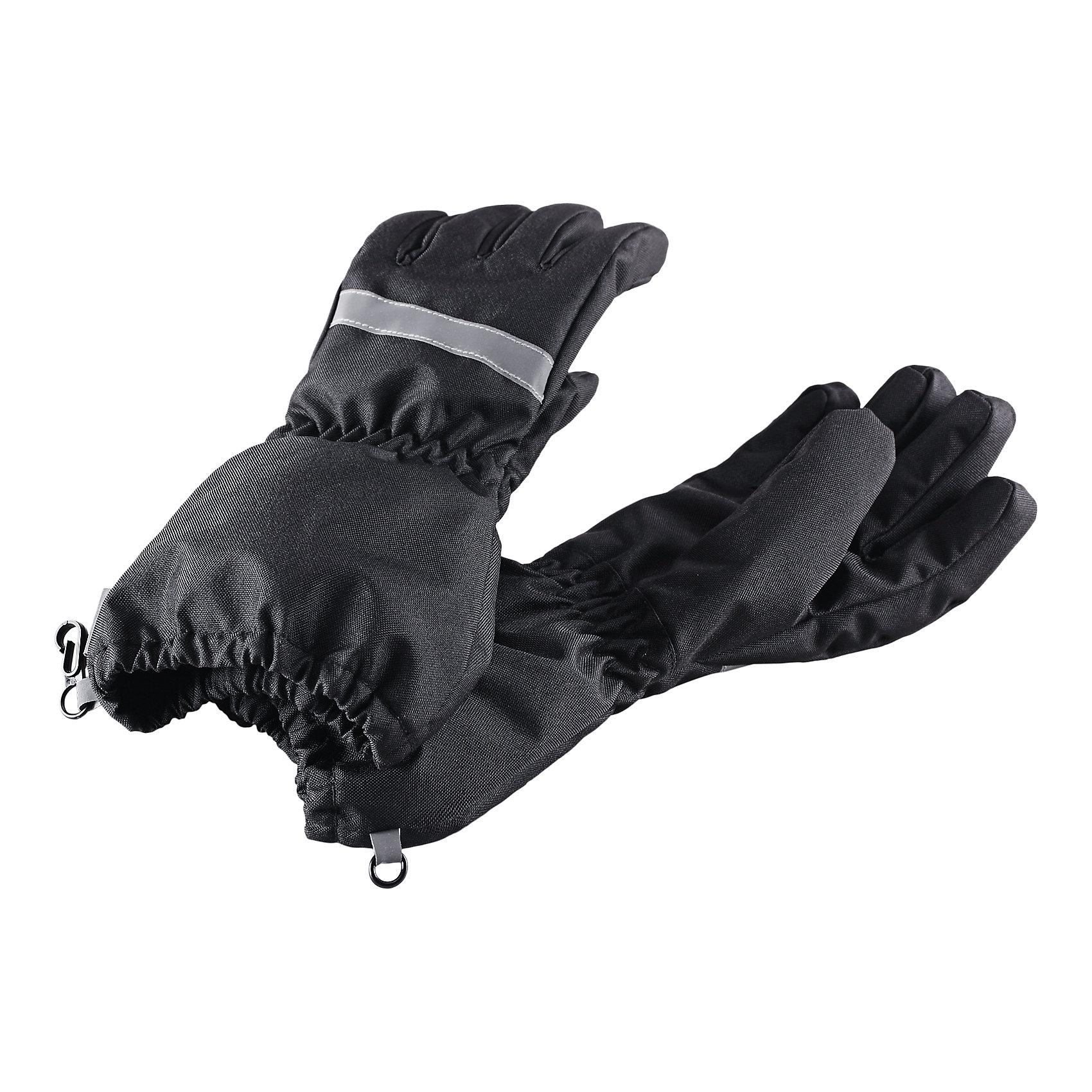 Перчатки LASSIEЗимние перчатки для детей известной финской марки.<br><br>- Сверхпрочный материал. Водоотталкивающий, ветронепроницаемый и грязеотталкивающий материал. <br>- Подкладка из полиэстера с начесом. <br>- Средняя степень утепления.<br>-  Безопасные светоотражающие детали. Светоотражающая эмблема Lassie®.  <br><br>Рекомендации по уходу: Полоскать без специального средства. Сушить при низкой температуре.<br><br> Состав: 100% Полиамид, полиуретановое покрытие.  Утеплитель «Lassie wadding» 120гр.<br><br>Ширина мм: 162<br>Глубина мм: 171<br>Высота мм: 55<br>Вес г: 119<br>Цвет: черный<br>Возраст от месяцев: 120<br>Возраст до месяцев: 144<br>Пол: Унисекс<br>Возраст: Детский<br>Размер: 6,3,4,5<br>SKU: 4780653