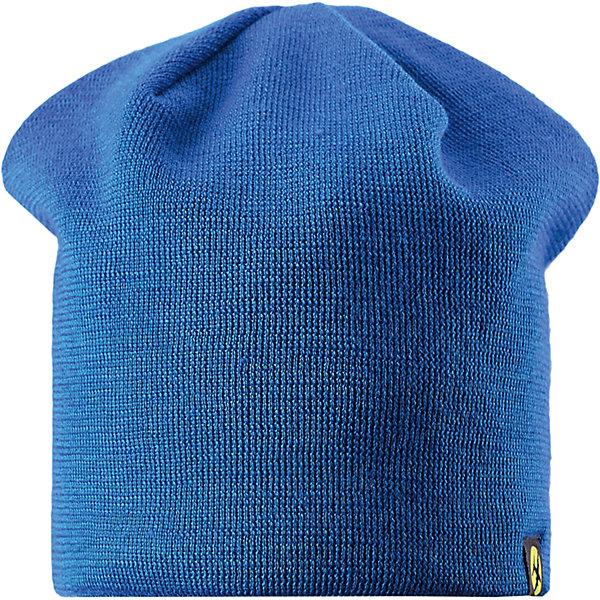 Шапка для мальчика LASSIEШапки и шарфы<br>Шапка «Бини» для детей известной финской марки.<br><br>- Мягкая и теплая ткань из смеси шерсти.<br><br>- Ветронепроницаемые вставки в области ушей.<br>- Мягкая теплая подкладка из флиса. <br>- Помпон сверху. <br>- Декоративная структура поверхности. <br>- Светоотражающая эмблема Lassie® спереди.  <br><br>Рекомендации по уходу: Придать первоначальную форму вo влажном виде. <br><br>Возможна усадка 5 %.Состав: 50% Шерсть, 50% полиакрил.<br><br>Ширина мм: 89<br>Глубина мм: 117<br>Высота мм: 44<br>Вес г: 155<br>Цвет: синий<br>Возраст от месяцев: 12<br>Возраст до месяцев: 24<br>Пол: Мужской<br>Возраст: Детский<br>Размер: 46-48,54-56,50-52<br>SKU: 4780713