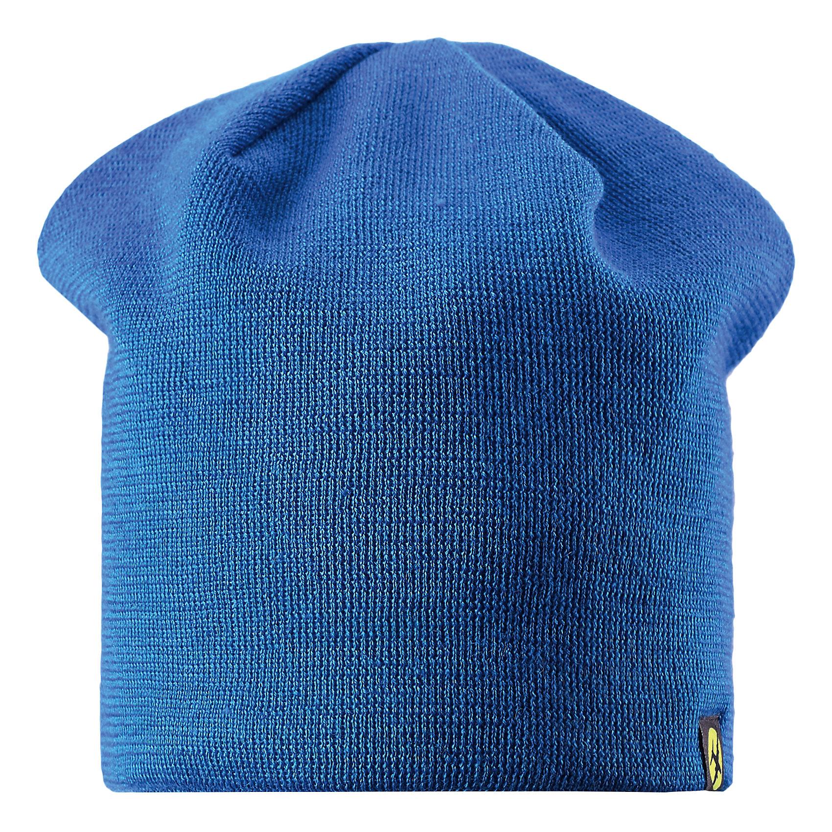 Шапка для мальчика LASSIEШапка «Бини» для детей известной финской марки.<br><br>- Мягкая и теплая ткань из смеси шерсти.<br><br>- Ветронепроницаемые вставки в области ушей.<br>- Мягкая теплая подкладка из флиса. <br>- Помпон сверху. <br>- Декоративная структура поверхности. <br>- Светоотражающая эмблема Lassie® спереди.  <br><br>Рекомендации по уходу: Придать первоначальную форму вo влажном виде. <br><br>Возможна усадка 5 %.Состав: 50% Шерсть, 50% полиакрил.<br><br>Ширина мм: 89<br>Глубина мм: 117<br>Высота мм: 44<br>Вес г: 155<br>Цвет: синий<br>Возраст от месяцев: 12<br>Возраст до месяцев: 24<br>Пол: Мужской<br>Возраст: Детский<br>Размер: 46-48,54-56,50-52<br>SKU: 4780713