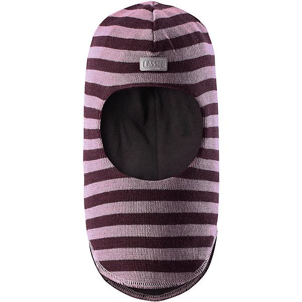 Шапка LASSIEШапки и шарфы<br>Шапка-шлем для малышей известной финской марки.<br><br>- Мягкая и теплая ткань из смеси шерсти.<br>- Ветронепроницаемые вставки в области ушей.<br>- Мягкая подкладка из хлопка и эластана. <br>- Узор из цветных полос. <br>- Светоотражающая эмблема Lassie® спереди.<br><br> Рекомендации по уходу: Придать первоначальную форму вo влажном виде. Возможна усадка 5 %.<br><br>Состав: 50% Шерсть, 50% полиакрил.<br><br>Ширина мм: 89<br>Глубина мм: 117<br>Высота мм: 44<br>Вес г: 155<br>Цвет: розовый<br>Возраст от месяцев: 6<br>Возраст до месяцев: 12<br>Пол: Женский<br>Возраст: Детский<br>Размер: 44-46,54-56,50-52,46-48<br>SKU: 4780999