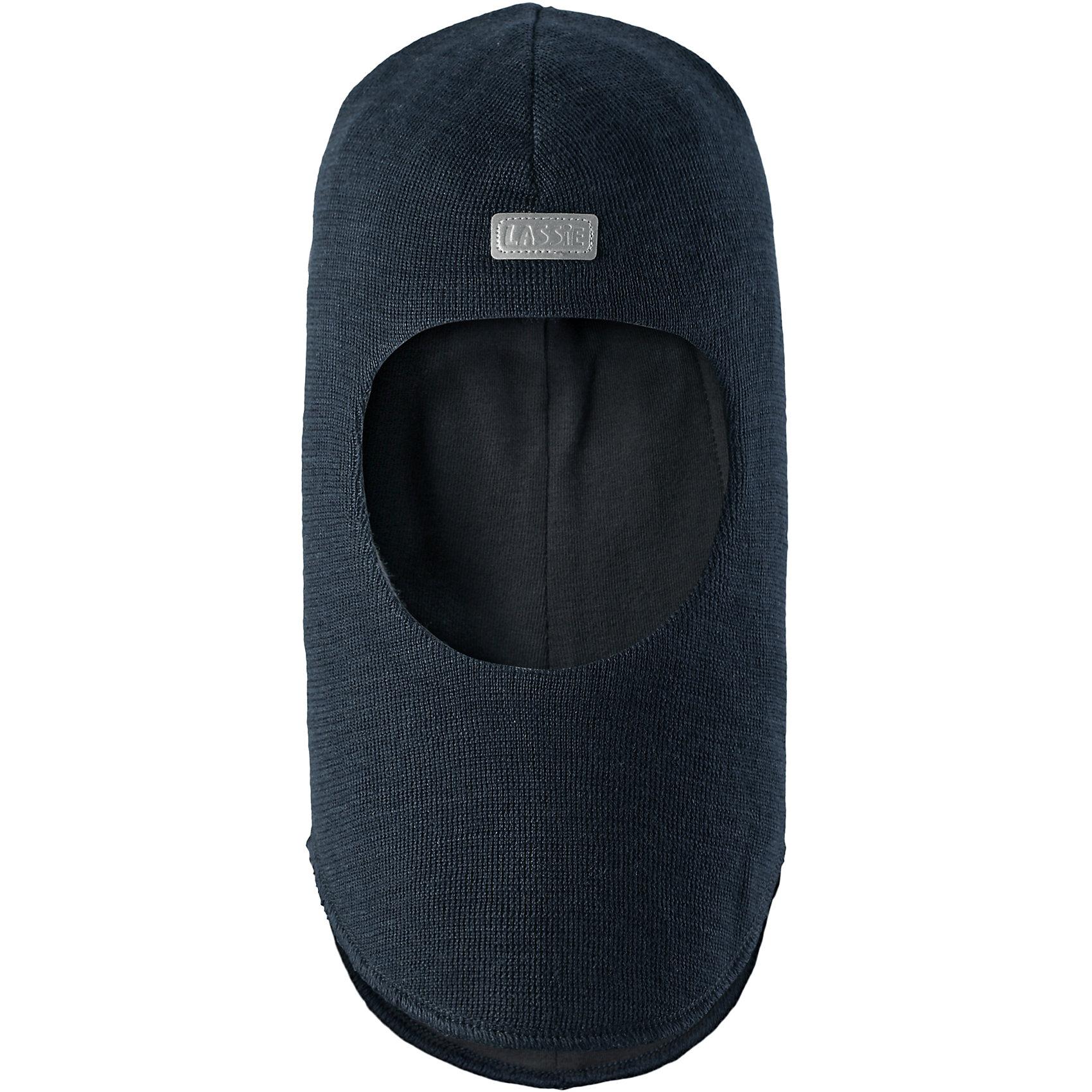 Шапка LASSIEШапки и шарфы<br>Шапка-шлем для малышей известной финской марки.<br><br>Температурный режим: от -0 до -15 градусов. Степень утепления – средняя. <br><br>* Температурный режим указан приблизительно — необходимо, прежде всего, ориентироваться на ощущения ребенка. <br><br>- Мягкая и теплая ткань из смеси шерсти.<br>- Ветронепроницаемые вставки в области ушей.<br>- Мягкая подкладка из хлопка и эластана.  <br>- Светоотражающая эмблема Lassie® спереди.<br><br> Рекомендации по уходу: Придать первоначальную форму вo влажном виде. Возможна усадка 5 %.<br><br>Состав: 50% Шерсть, 50% полиакрил.<br><br>Ширина мм: 89<br>Глубина мм: 117<br>Высота мм: 44<br>Вес г: 155<br>Цвет: черный<br>Возраст от месяцев: 6<br>Возраст до месяцев: 12<br>Пол: Мужской<br>Возраст: Детский<br>Размер: 44-46,54-56,50-52,46-48<br>SKU: 4781029