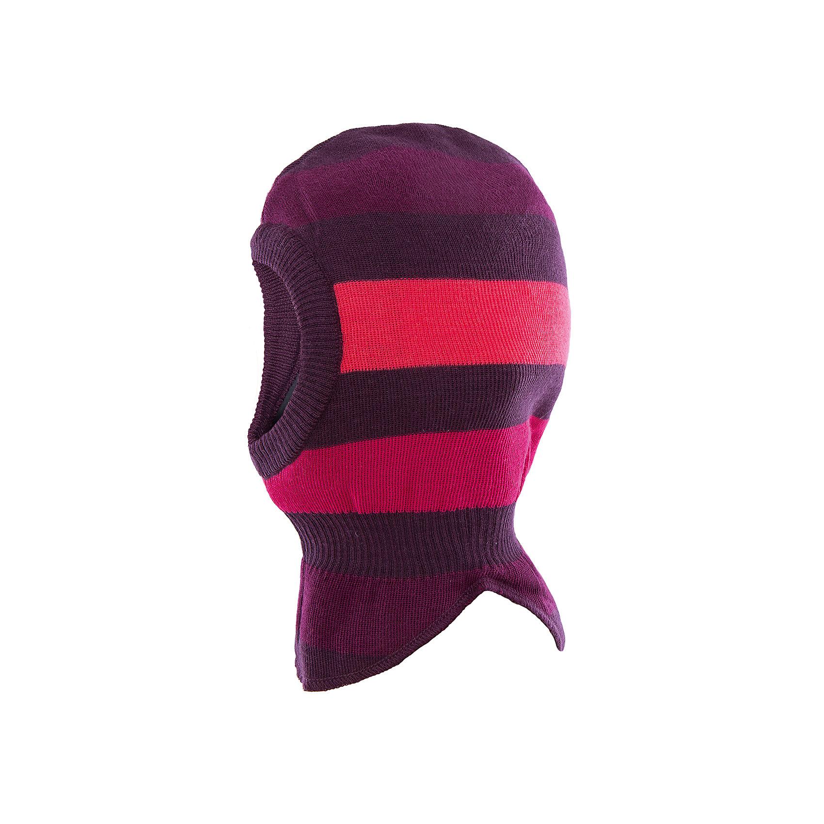 Шапка LASSIE by ReimaШапка-шлем для малышей известной финской марки.<br><br>- Мягкая и теплая ткань из смеси шерсти.<br>- Ветронепроницаемые вставки в области ушей. <br>- Мягкая подкладка из хлопка и эластана. <br>- Легкая степень утепления. <br>- Спортивные полоски. <br>- Светоотражающая эмблема Lassie®. <br><br>Рекомендации по уходу: Придать первоначальную форму вo влажном виде. Возможна усадка 5 %.<br><br>Состав: 50% Шерсть, 50% полиакрил.  Утеплитель «Lassie wadding» 40гр.<br><br>Ширина мм: 89<br>Глубина мм: 117<br>Высота мм: 44<br>Вес г: 155<br>Цвет: фиолетовый<br>Возраст от месяцев: 36<br>Возраст до месяцев: 60<br>Пол: Женский<br>Возраст: Детский<br>Размер: 50-52,44-46,46-48<br>SKU: 4781109