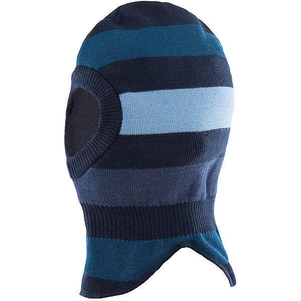Шапка для мальчика LASSIEШапки и шарфы<br>Шапка-шлем для малышей известной финской марки.<br><br>- Мягкая и теплая ткань из смеси шерсти.<br>- Ветронепроницаемые вставки в области ушей. <br>- Мягкая подкладка из хлопка и эластана. <br>- Легкая степень утепления. <br>- Спортивные полоски. <br>- Светоотражающая эмблема Lassie®. <br><br>Рекомендации по уходу: Придать первоначальную форму вo влажном виде. Возможна усадка 5 %.<br><br>Состав: 50% Шерсть, 50% полиакрил.  Утеплитель «Lassie wadding» 40гр.<br><br>Ширина мм: 89<br>Глубина мм: 117<br>Высота мм: 44<br>Вес г: 155<br>Цвет: синий<br>Возраст от месяцев: 6<br>Возраст до месяцев: 12<br>Пол: Мужской<br>Возраст: Детский<br>Размер: 44-46,50-52,46-48<br>SKU: 4781113