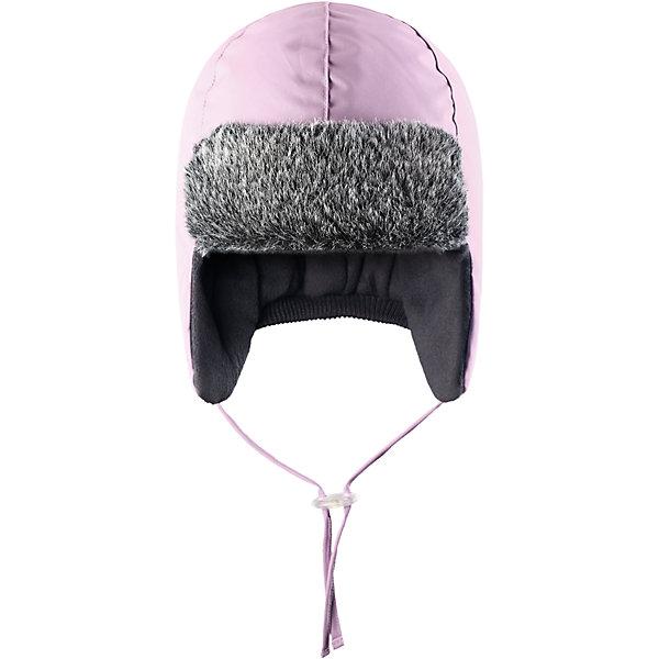 Шапка LASSIEШапки и шарфы<br>Зимняя шапка для малышей известной финской марки.<br><br>- Водоотталкивающий, ветронепроницаемый и грязеотталкивающий материал. <br>-  Мягкая теплая подкладка из флиса. <br>- Средняя степень утепления.<br>- Светоотражающая эмблема Lassie®.<br><br> Рекомендации по уходу: Полоскать без специального средства. Сушить при низкой температуре. <br><br>Состав: 100% Полиамид, полиуретановое покрытие.<br><br>Ширина мм: 89<br>Глубина мм: 117<br>Высота мм: 44<br>Вес г: 155<br>Цвет: розовый<br>Возраст от месяцев: 6<br>Возраст до месяцев: 9<br>Пол: Женский<br>Возраст: Детский<br>Размер: 46,52,50,48<br>SKU: 4781459