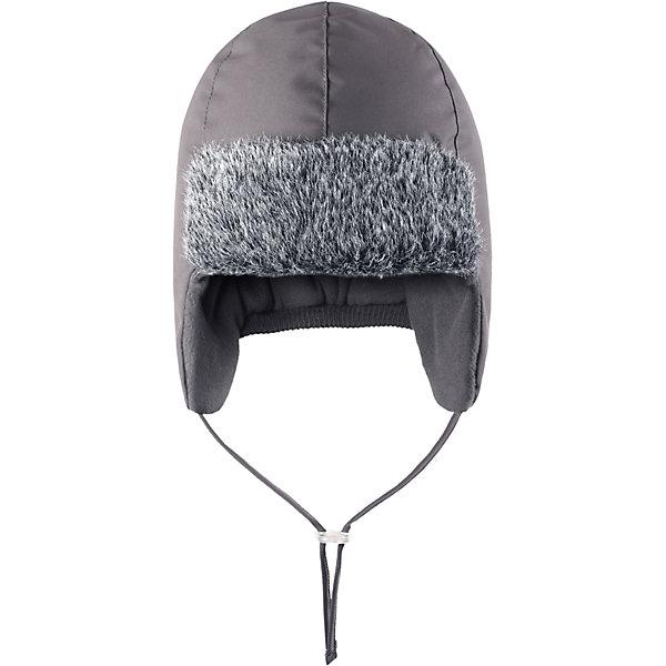 Шапка для мальчика LASSIEШапки и шарфы<br>Зимняя шапка для малышей известной финской марки.<br><br>- Водоотталкивающий, ветронепроницаемый и грязеотталкивающий материал. <br>-  Мягкая теплая подкладка из флиса. <br>- Средняя степень утепления.<br>- Светоотражающая эмблема Lassie®.<br><br> Рекомендации по уходу: Полоскать без специального средства. Сушить при низкой температуре. <br><br>Состав: 100% Полиамид, полиуретановое покрытие.<br><br>Ширина мм: 89<br>Глубина мм: 117<br>Высота мм: 44<br>Вес г: 155<br>Цвет: серый<br>Возраст от месяцев: 6<br>Возраст до месяцев: 9<br>Пол: Мужской<br>Возраст: Детский<br>Размер: 46,52,50,48<br>SKU: 4781464
