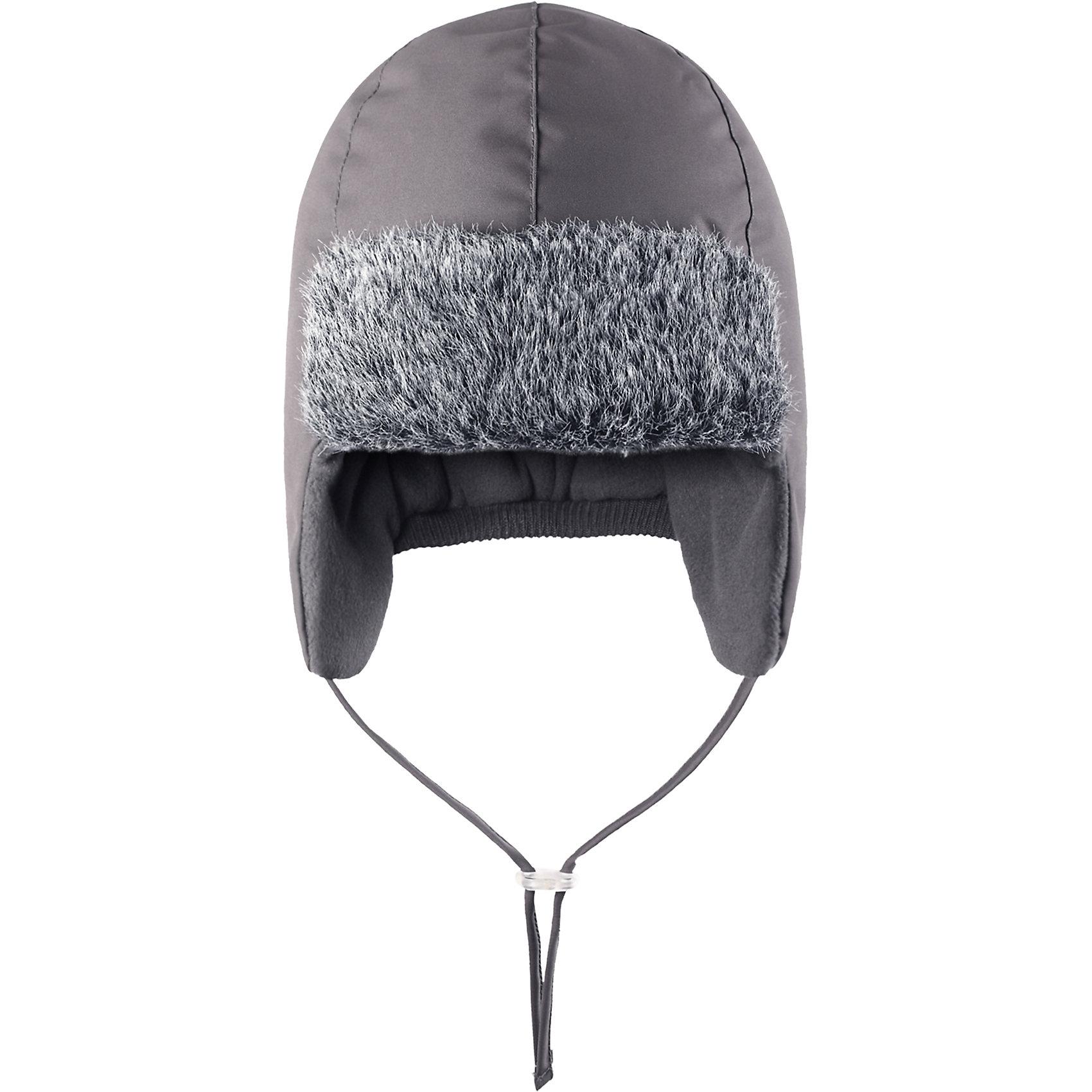 Шапка для мальчика LASSIEЗимняя шапка для малышей известной финской марки.<br><br>- Водоотталкивающий, ветронепроницаемый и грязеотталкивающий материал. <br>-  Мягкая теплая подкладка из флиса. <br>- Средняя степень утепления.<br>- Светоотражающая эмблема Lassie®.<br><br> Рекомендации по уходу: Полоскать без специального средства. Сушить при низкой температуре. <br><br>Состав: 100% Полиамид, полиуретановое покрытие.<br><br>Ширина мм: 89<br>Глубина мм: 117<br>Высота мм: 44<br>Вес г: 155<br>Цвет: серый<br>Возраст от месяцев: 48<br>Возраст до месяцев: 60<br>Пол: Мужской<br>Возраст: Детский<br>Размер: 52,46,48,50<br>SKU: 4781464