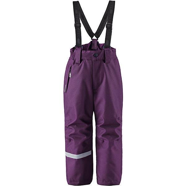 Брюки для девочки LASSIEОдежда<br>Зимние брюки для детей Lassietec®. <br><br>- Прочный материал. Водо- и ветронепроницаемый, «дышащий» и грязеотталкивающий материал. <br>- Внешние швы проклеены. <br>- Гладкая подкладка из полиэстра. <br>- Средняя степень утепления.<br>-  Эластичная талия. <br>- Снегозащитные манжеты на штанинах. <br>- Ширинка на молнии. <br>- Карман на молнии. <br>- Регулируемые и отстегивающиеся эластичные подтяжки. <br><br>Рекомендации по уходу: Стирать по отдельности, вывернув наизнанку. Застегнуть молнии и липучки. Соблюдать температуру в соответствии с руководством по уходу. Стирать моющим средством, не содержащим отбеливающие вещества. Полоскать без специального средства. Сушение в сушильном шкафу разрешено при  низкой температуре.<br><br>Состав: 100% Полиамид, полиуретановое покрытие.  Утеплитель «Lassie wadding» 100гр.<br>Ширина мм: 215; Глубина мм: 88; Высота мм: 191; Вес г: 336; Цвет: лиловый; Возраст от месяцев: 18; Возраст до месяцев: 24; Пол: Женский; Возраст: Детский; Размер: 92,140,134,128,122,116,110,104,98; SKU: 4781846;