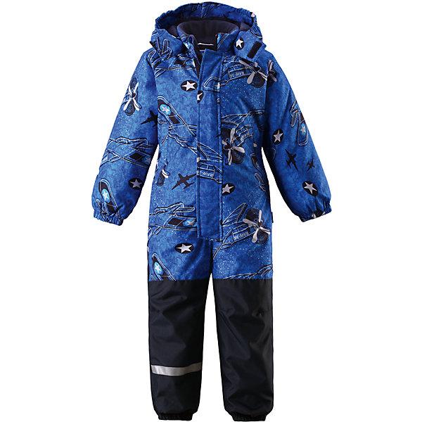 Комбинезон для мальчика LASSIEОдежда<br>Зимний комбинезон для детей известной финской марки.<br><br>Характеристики товара:<br><br>-Вставки из высокопрочного материала в области колен и попы<br>-Два боковых кармана<br>-Температурный режим от 0°до -15°С<br>-Задний средний шов проклеен<br>-Съемный капюшон<br>-Съемные штрипки<br>-Ветрозащита<br>-Состав: 100% полиэстер, мембрана 100% полиуретан<br>-Утеплитель: 100% полиэстер 180г/кв.м<br>-Водонепроницаемость: 1000мм<br>-Сопротивление трению: 50000 оборотов (тест Мартиндейла)<br><br>Рекомендации по уходу: Стирать по отдельности, вывернув наизнанку. Застегнуть молнии и липучки. Соблюдать температуру в соответствии с руководством по уходу. Стирать моющим средством, не содержащим отбеливающие вещества. Полоскать без специального средства. Сушение в сушильном шкафу разрешено при  низкой температуре.<br><br>Состав: 100% Полиамид, полиуретановое покрытие.  Утеплитель «Lassie wadding» 180гр.<br>Ширина мм: 356; Глубина мм: 10; Высота мм: 245; Вес г: 519; Цвет: синий; Возраст от месяцев: 24; Возраст до месяцев: 36; Пол: Мужской; Возраст: Детский; Размер: 80,128,122,116,110,104,98,92,86; SKU: 4782008;