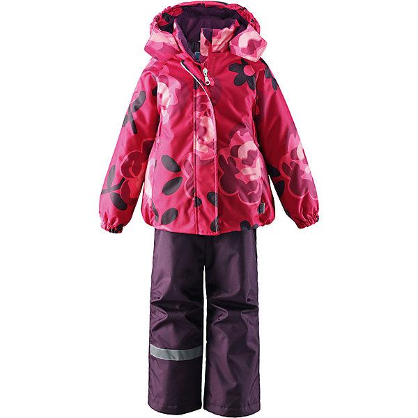 Комплект для девочки LASSIEОдежда<br>Зимний комплект для детей известной финской марки.<br><br>-  Прочный материал. Водоотталкивающий, ветронепроницаемый, «дышащий» и грязеотталкивающий материал.<br>-  Задний серединный шов брюк проклеен.<br>-  Гладкая подкладка из полиэстра.<br>-  Средняя степень утепления. <br>- Безопасный, съемный капюшон.<br>-  Эластичные манжеты. Эластичная талия. <br>- Регулируемый подол. Снегозащитные манжеты на штанинах. <br>- Ширинка на молнии. Карманы в боковых швах.<br>-  Регулируемые и отстегивающиеся эластичные подтяжки.<br>-  Принт по всей поверхности. <br><br> Рекомендации по уходу: Стирать по отдельности, вывернув наизнанку. Застегнуть молнии и липучки. Соблюдать температуру в соответствии с руководством по уходу. Стирать моющим средством, не содержащим отбеливающие вещества. Полоскать без специального средства. Сушение в сушильном шкафу разрешено при  низкой температуре.<br><br>Состав: 100% Полиамид, полиуретановое покрытие.  Утеплитель «Lassie wadding» 100гр.(брюки); 180гр.(куртка).<br>Ширина мм: 190; Глубина мм: 74; Высота мм: 229; Вес г: 236; Цвет: розовый; Возраст от месяцев: 72; Возраст до месяцев: 84; Пол: Женский; Возраст: Детский; Размер: 122,140,92,98,104,110,116,128,134; SKU: 4782178;