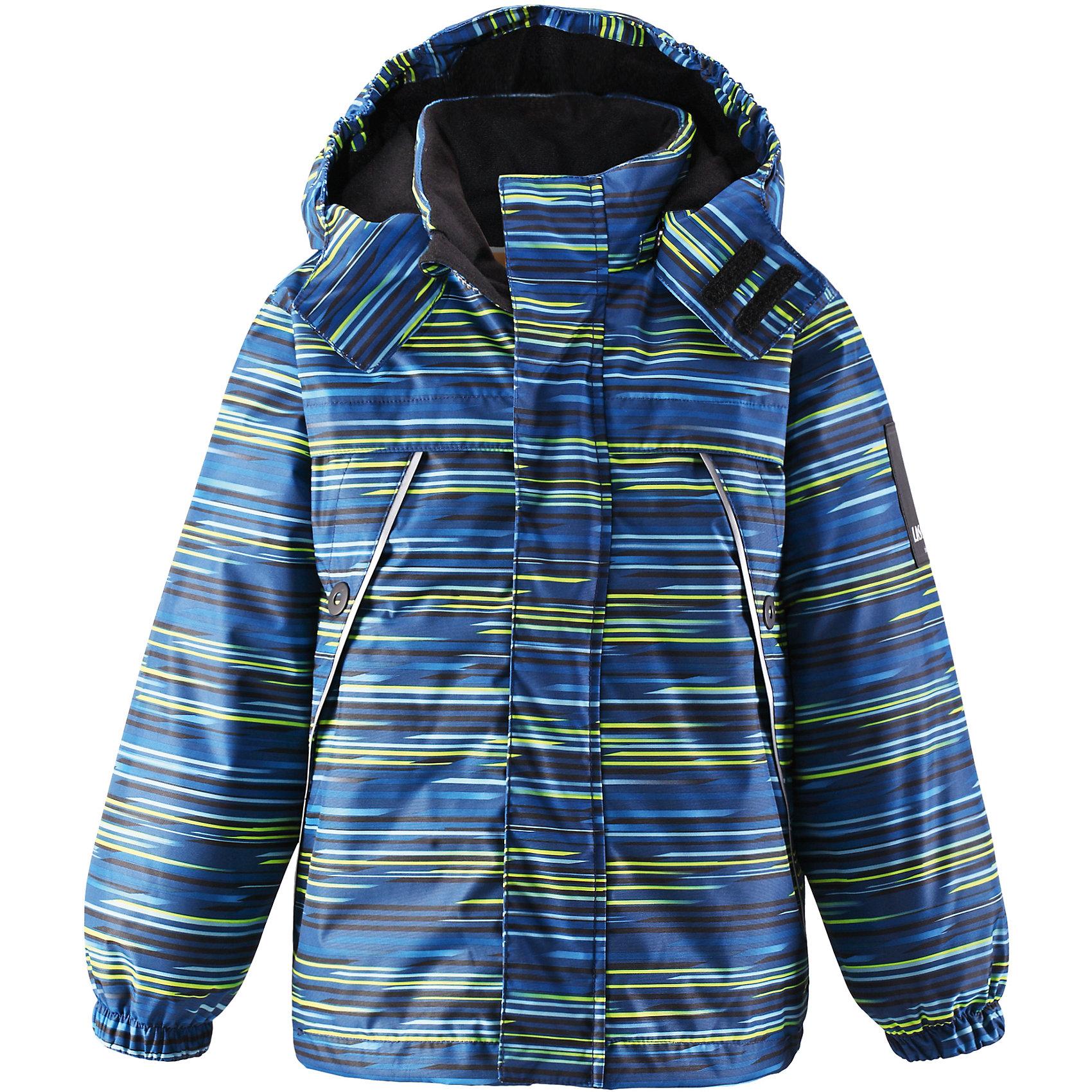 Куртка для мальчика LASSIEОдежда<br>Зимняя куртка для детей Lassietec®. <br><br>- Водо- и ветронепроницаемый, «дышащий» и грязеотталкивающий материал.<br>- Внешние швы проклеены.<br>- Гладкая подкладка из полиэстра.<br>- Средняя степень утепления.<br>-  Безопасный, съемный капюшон.<br>- Эластичные манжеты. <br>- Регулируемый подол.<br>- Передние карманы. <br><br> Рекомендации по уходу: Стирать по отдельности, вывернув наизнанку. Застегнуть молнии и липучки. Соблюдать температуру в соответствии с руководством по уходу. Стирать моющим средством, не содержащим отбеливающие вещества. Полоскать без специального средства. Сушение в сушильном шкафу разрешено при  низкой температуре.<br><br>Состав: 100% Полиамид, полиуретановое покрытие.  Утеплитель «Lassie wadding» 140гр.<br><br>Ширина мм: 356<br>Глубина мм: 10<br>Высота мм: 245<br>Вес г: 519<br>Цвет: синий<br>Возраст от месяцев: 18<br>Возраст до месяцев: 24<br>Пол: Мужской<br>Возраст: Детский<br>Размер: 92,140,98,104,110,116,122,128,134<br>SKU: 4782248