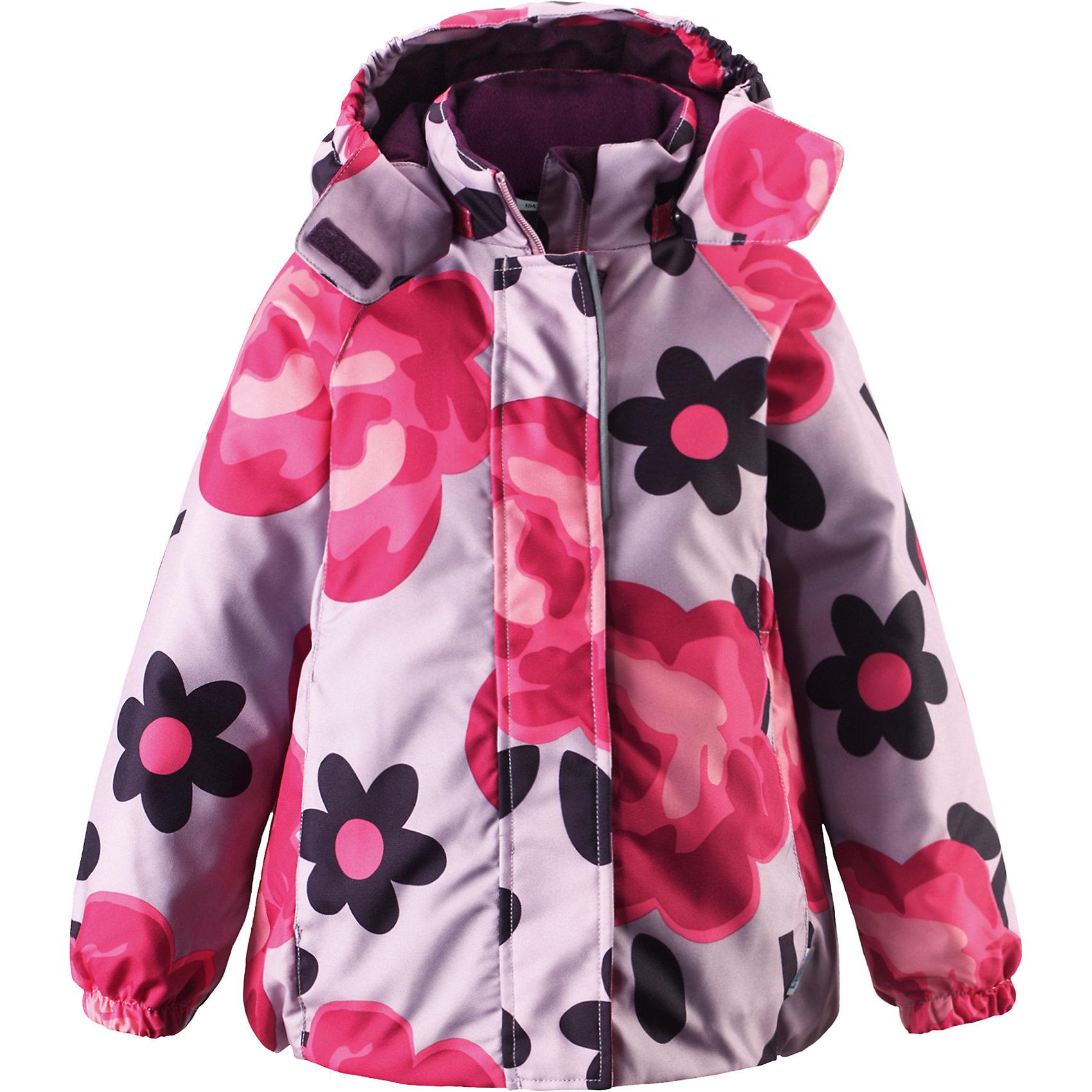 Куртка для девочки LASSIE by ReimaЗимняя куртка для детей известной финской марки.<br><br>- Прочный материал. Водоотталкивающий, ветронепроницаемый, «дышащий» и грязеотталкивающий материал. <br>- Крой для девочек. <br>- Гладкая подкладка из полиэстра.<br>- Средняя степень утепления.<br>-  Безопасный, съемный капюшон. <br>- Эластичные манжеты. Карманы в боковых швах.<br>-  Принт по всей поверхности.  <br><br>Рекомендации по уходу: Стирать по отдельности, вывернув наизнанку. Застегнуть молнии и липучки. Соблюдать температуру в соответствии с руководством по уходу. Стирать моющим средством, не содержащим отбеливающие вещества. Полоскать без специального средства. Сушение в сушильном шкафу разрешено при  низкой температуре.<br><br>Состав: 100% Полиамид, полиуретановое покрытие.  Утеплитель «Lassie wadding» 180гр.<br><br>Ширина мм: 356<br>Глубина мм: 10<br>Высота мм: 245<br>Вес г: 519<br>Цвет: розовый<br>Возраст от месяцев: 24<br>Возраст до месяцев: 36<br>Пол: Женский<br>Возраст: Детский<br>Размер: 98,92,140,134,128,122,116,110,104<br>SKU: 4782278
