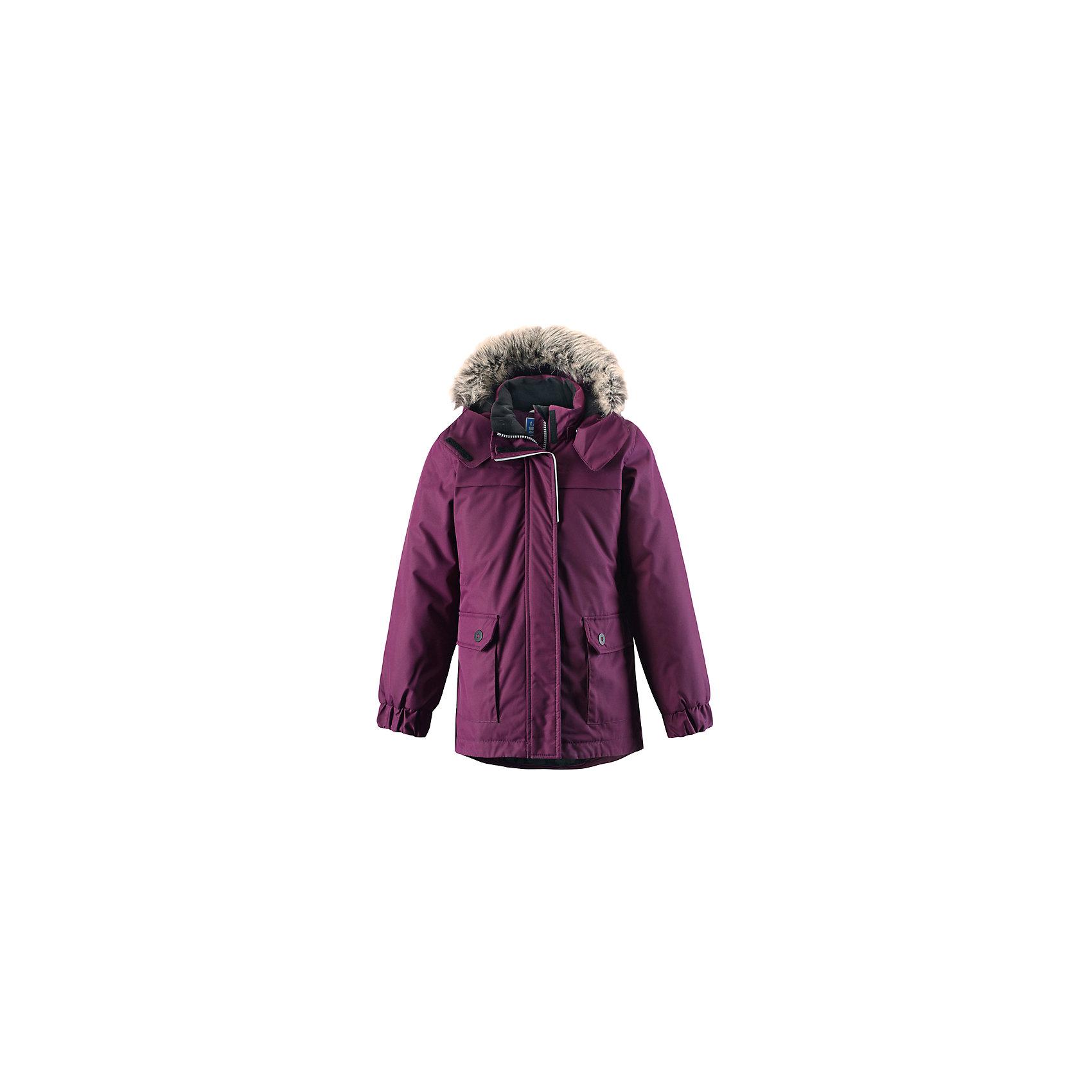 Куртка LASSIEЗимняя куртка для детей известной финской марки.<br><br>- Водоотталкивающий, ветронепроницаемый, «дышащий» и грязеотталкивающий материал.<br>- Крой для девочек.<br>- Гладкая подкладка из полиэстра.<br>- Средняя степень утепления<br>-  Безопасный съемный капюшон с отсоединяемой меховой каймой из искусственного меха. <br>- Эластичные манжеты. Регулируемый обхват талии.<br>-  Карманы с клапанами. <br><br> Рекомендации по уходу: Стирать по отдельности, вывернув наизнанку. Перед стиркой отстегните искусственный мех. Застегнуть молнии и липучки. Соблюдать температуру в соответствии с руководством по уходу. Стирать моющим средством, не содержащим отбеливающие вещества. Полоскать без специального средства. Сушение в сушильном шкафу разрешено при  низкой температуре.<br><br>Состав: 100% Полиамид, полиуретановое покрытие.  Утеплитель «Lassie wadding» 180гр.<br><br>Ширина мм: 356<br>Глубина мм: 10<br>Высота мм: 245<br>Вес г: 519<br>Цвет: фиолетовый<br>Возраст от месяцев: 108<br>Возраст до месяцев: 120<br>Пол: Женский<br>Возраст: Детский<br>Размер: 134,128,122,116,110,104,140,98,92<br>SKU: 4782328