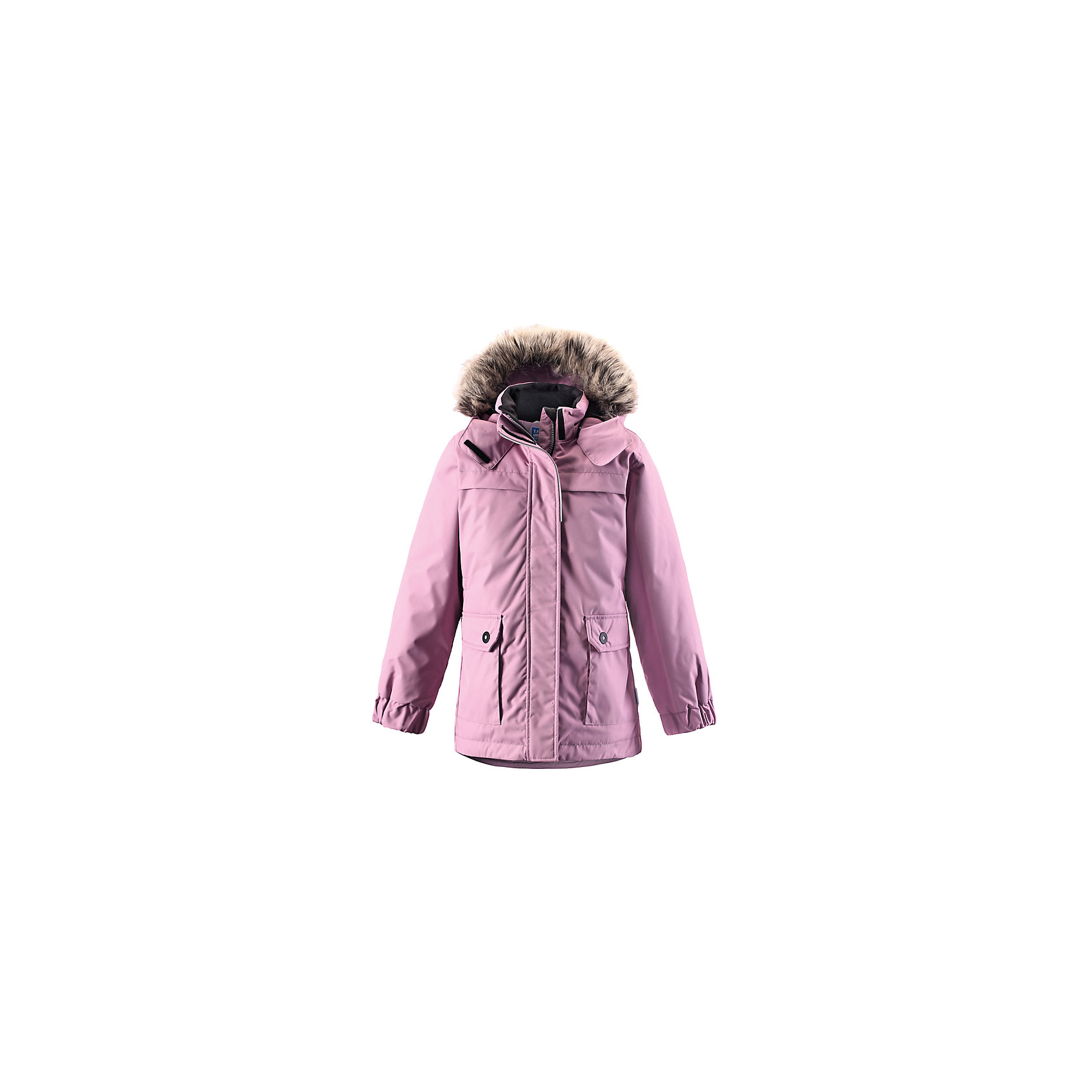 Куртка LASSIE by ReimaЗимняя куртка для детей известной финской марки.<br><br>- Водоотталкивающий, ветронепроницаемый, «дышащий» и грязеотталкивающий материал.<br>- Крой для девочек.<br>- Гладкая подкладка из полиэстра.<br>- Средняя степень утепления<br>-  Безопасный съемный капюшон с отсоединяемой меховой каймой из искусственного меха. <br>- Эластичные манжеты. Регулируемый обхват талии.<br>-  Карманы с клапанами. <br><br> Рекомендации по уходу: Стирать по отдельности, вывернув наизнанку. Перед стиркой отстегните искусственный мех. Застегнуть молнии и липучки. Соблюдать температуру в соответствии с руководством по уходу. Стирать моющим средством, не содержащим отбеливающие вещества. Полоскать без специального средства. Сушение в сушильном шкафу разрешено при  низкой температуре.<br><br>Состав: 100% Полиамид, полиуретановое покрытие.  Утеплитель «Lassie wadding» 180гр.<br><br>Ширина мм: 356<br>Глубина мм: 10<br>Высота мм: 245<br>Вес г: 519<br>Цвет: розовый<br>Возраст от месяцев: 18<br>Возраст до месяцев: 24<br>Пол: Женский<br>Возраст: Детский<br>Размер: 92,116,140,134,128,122,110,104,98<br>SKU: 4782338