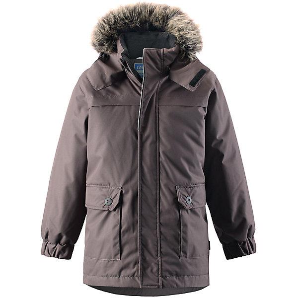 Куртка LASSIEОдежда<br>Зимняя куртка для детей известной финской марки.<br><br>- Водоотталкивающий, ветронепроницаемый, «дышащий» и грязеотталкивающий материал.<br>- Крой для девочек.<br>- Гладкая подкладка из полиэстра.<br>- Средняя степень утепления<br>-  Безопасный съемный капюшон с отсоединяемой меховой каймой из искусственного меха. <br>- Эластичные манжеты. Регулируемый обхват талии.<br>-  Карманы с клапанами. <br><br> Рекомендации по уходу: Стирать по отдельности, вывернув наизнанку. Перед стиркой отстегните искусственный мех. Застегнуть молнии и липучки. Соблюдать температуру в соответствии с руководством по уходу. Стирать моющим средством, не содержащим отбеливающие вещества. Полоскать без специального средства. Сушение в сушильном шкафу разрешено при  низкой температуре.<br><br>Состав: 100% Полиамид, полиуретановое покрытие.  Утеплитель «Lassie wadding» 180гр.<br>Ширина мм: 356; Глубина мм: 10; Высота мм: 245; Вес г: 519; Цвет: темно-коричневый; Возраст от месяцев: 60; Возраст до месяцев: 72; Пол: Унисекс; Возраст: Детский; Размер: 116,92,140,134,128,122,110,104,98; SKU: 4782358;