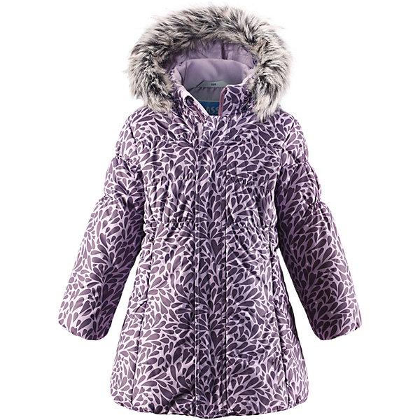 Пальто LASSIEОдежда<br>Зимнее пальто для детей известной финской марки.<br><br>- Водоотталкивающий, ветронепроницаемый, «дышащий» и грязеотталкивающий материал.<br>- Крой для девочек. <br>- Гладкая подкладка из полиэстра.<br>- Средняя степень утепления. <br>- Безопасный съемный капюшон с отсоединяемой меховой каймой из искусственного меха.<br>- Эластичные манжеты. <br>- Регулируемый обхват талии. <br>- Карманы с клапанами.  <br><br>Рекомендации по уходу: Стирать по отдельности, вывернув наизнанку. Перед стиркой отстегните искусственный мех. Застегнуть молнии и липучки. Соблюдать температуру в соответствии с руководством по уходу. Стирать моющим средством, не содержащим отбеливающие вещества. Полоскать без специального средства. Сушение в сушильном шкафу разрешено при  низкой температуре.<br><br>Состав: 100% Полиамид, полиуретановое покрытие.  Утеплитель «Lassie wadding» 200гр.<br><br>Ширина мм: 356<br>Глубина мм: 10<br>Высота мм: 245<br>Вес г: 519<br>Цвет: лиловый<br>Возраст от месяцев: 24<br>Возраст до месяцев: 36<br>Пол: Женский<br>Возраст: Детский<br>Размер: 98,134,128,122,116,110,104,92,140<br>SKU: 4782388