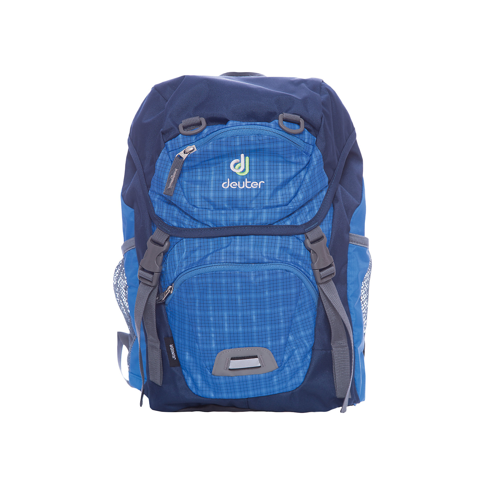 Deuter Рюкзак Junior, голубая клетка deuter giga blackberry dresscode