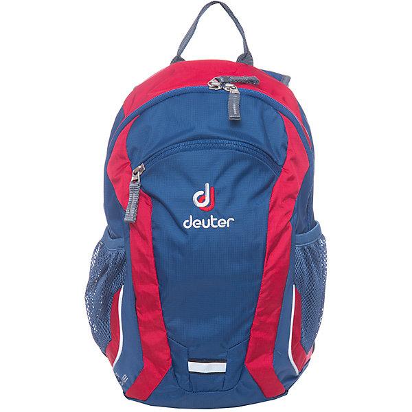 Deuter Рюкзак детский Ultra bike,  сине-оранжевыйДорожные сумки и чемоданы<br>Рюкзак Ultra bike, сине-оранжевый, Deuter (Дойтер)<br><br>Характеристики:<br><br>• анатомические плечевые лямки<br>• нагрудный ремень <br>• система вентиляции спины Airstripes<br>• вместительное основное отделение<br>• внешний карман на молнии<br>• 2 боковых сетчатых кармана<br>• светоотражающие элементы<br>• именная бирка<br>• размер: 36х22х16 см<br>• объем: 10 л<br>• вес: 350 грамм<br>• материал: Microrip-Nylon / HexLite 210<br>• цвет: сине-оранжевый<br><br>Рюкзак Ultra Bike отлично подойдет для юных велосипедистов. Он изготовлен из качественного прочного материала, устойчивого к влаге и истиранию. Анатомические лямки и нагрудный ремень обеспечат правильное распределение нагрузки на спину и плечевой пояс. Рюкзак имеет одно основное отделение на молнии, внешний карман на молнии и два боковых сетчатых кармана. Кроме того, модель оснащена именной биркой, светоотражающими элементами и отдельной отражающей петлей для проблескового фонарика. Рюкзак Ultra Bike - отличный выбор для юных спортсменов!<br><br>Рюкзак Ultra bike, сине-оранжевый, Deuter (Дойтер) вы можете купить в нашем интернет-магазине.<br><br>Ширина мм: 160<br>Глубина мм: 220<br>Высота мм: 360<br>Вес г: 350<br>Возраст от месяцев: 36<br>Возраст до месяцев: 84<br>Пол: Мужской<br>Возраст: Детский<br>SKU: 4782529