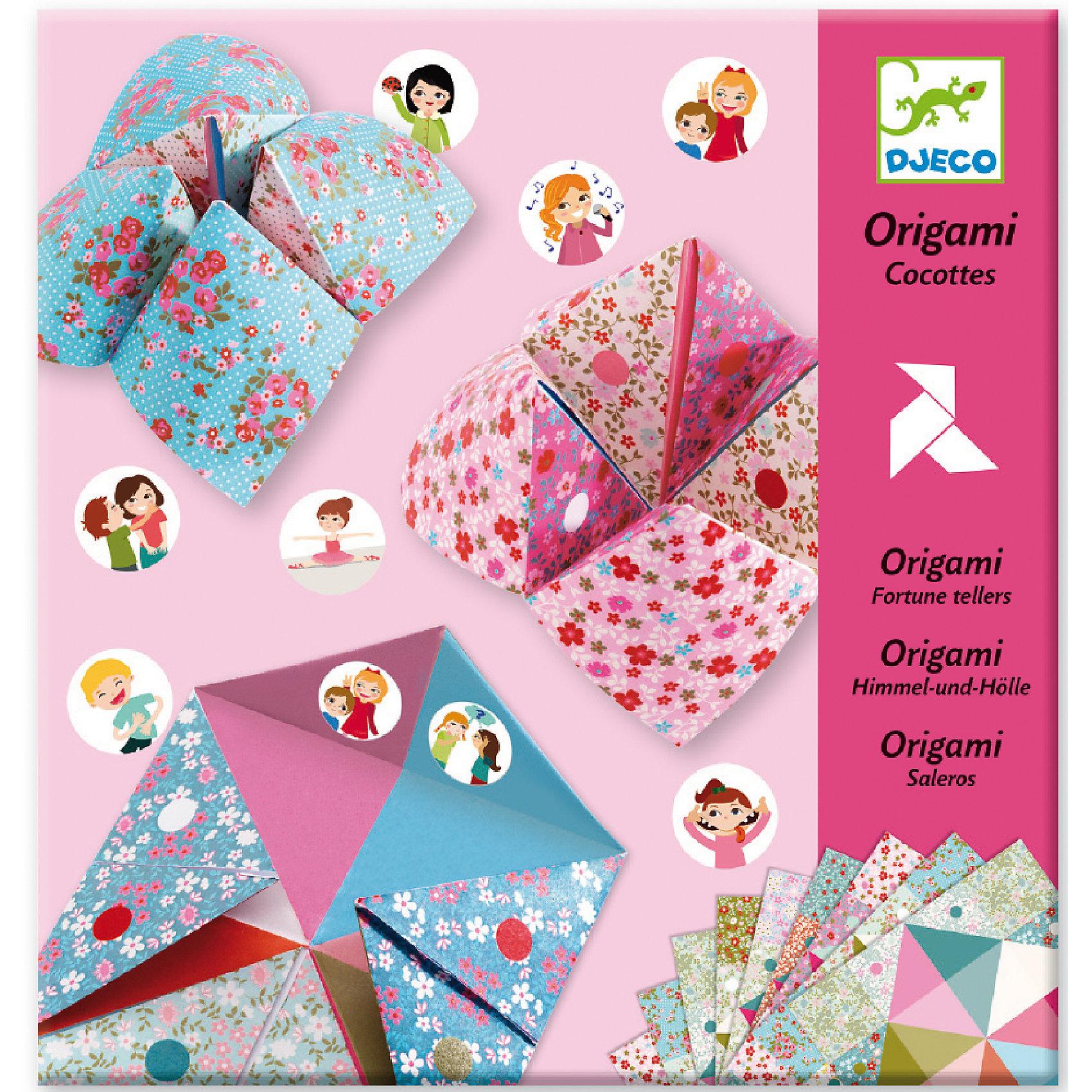 Оригами с фантамиБумага<br>Творческий набор оригами с фантами – это не только классическое творческое занятие, но и увлекательное и веселое времяпрепровождение для девочек. Сложив конвертики из декоративной разноцветной бумаги без использования ножниц и клея, и наклеив на внутреннюю сторону наклейки с изображениями различных действий, можно поиграть в фанты со своими подружками. С помощью красочной инструкции ребенок может сложить 6 различных птиц. Занятие оригами развивает моторику рук, творческое и пространственное мышление. В комплекте: 24 листа бумаги для оригами, 3 листа наклеек. Для детей 6-11 лет. Размер упаковки: 22 х 23 см.<br><br>Оригами с фантами можно купить в нашем магазине.<br><br>Ширина мм: 220<br>Глубина мм: 230<br>Высота мм: 10<br>Вес г: 190<br>Возраст от месяцев: 72<br>Возраст до месяцев: 132<br>Пол: Женский<br>Возраст: Детский<br>SKU: 4783850