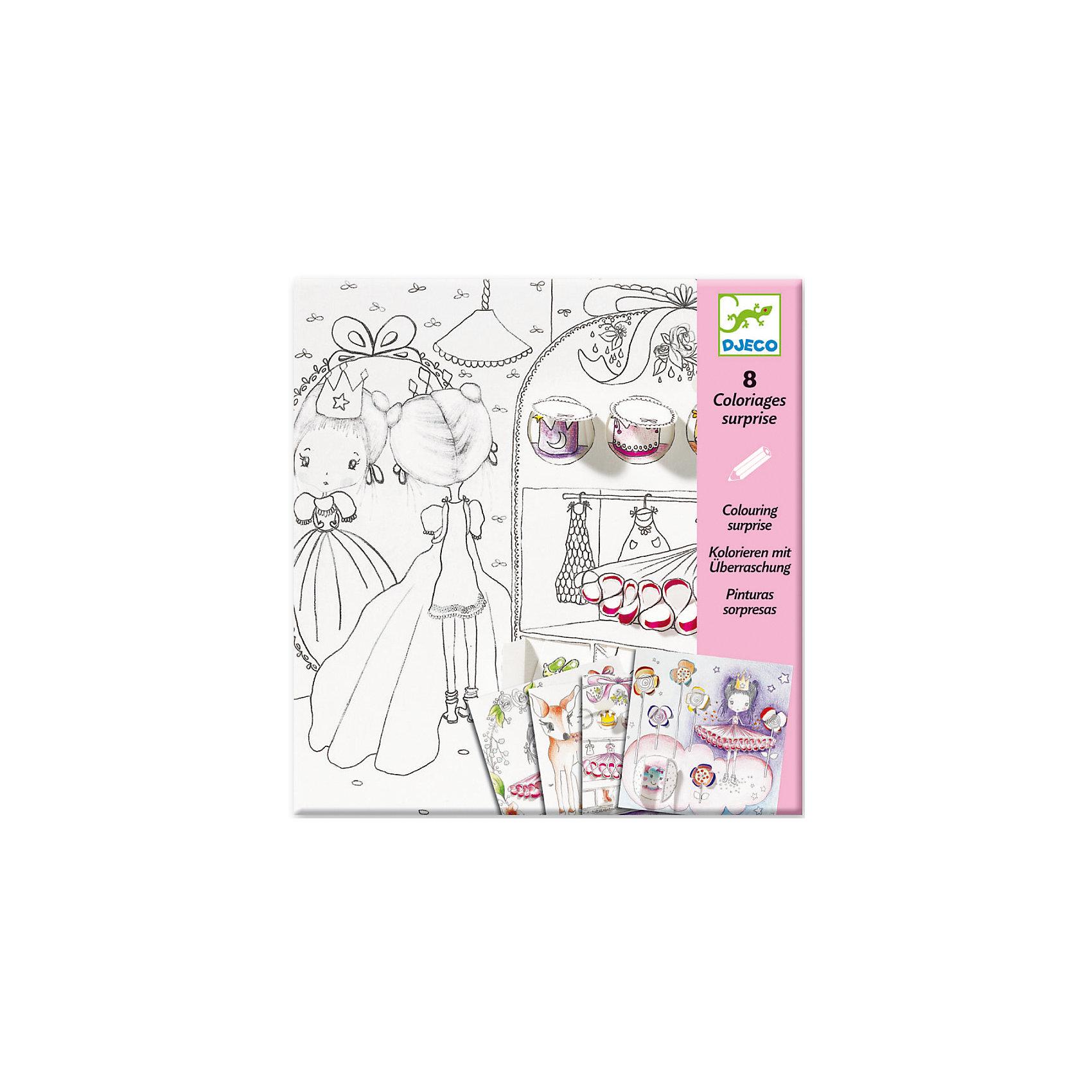 Раскраска с движущимися элементами Секретики ПоллиНабор для творчества Секретики Полли от французского бренда Djeco позволяет малышу проявить свою фантазию, что способствует развитию творческой личности. <br><br>Раскраска подарит детям радость самовыражения, поможет развивать усидчивость, воображение, мелкую моторику, цветовосприятие и творческое мышление. <br><br>Дизайнеры фирмы DJECO придумали очень необычные раскраски. На картинках есть небольшие изломы, отодвигая которые ребенок увидит пространство для раскрашивания. Таким образом картинки получатся объемные и необычные. И их даже можно повесить в качестве первой картины ребенка в его комнате! <br><br>Раскрашивать картинки можно как карандашами, так и фломастерами и пастелью. <br><br>В наборе для детского творчества: 4 листа раскрасок с милыми девочками. <br><br>Наборы для детского творчества развивают фантазию, воображение и творческие способности ребенка, учат его внимательности и усидчивости. <br>Набор продается в красочной подарочной упаковке. <br><br>Раскраска с движущимися элементами Секретики Полли можно купить в нашем магазине.<br><br>Ширина мм: 10<br>Глубина мм: 220<br>Высота мм: 230<br>Вес г: 180<br>Возраст от месяцев: 72<br>Возраст до месяцев: 132<br>Пол: Женский<br>Возраст: Детский<br>SKU: 4783879