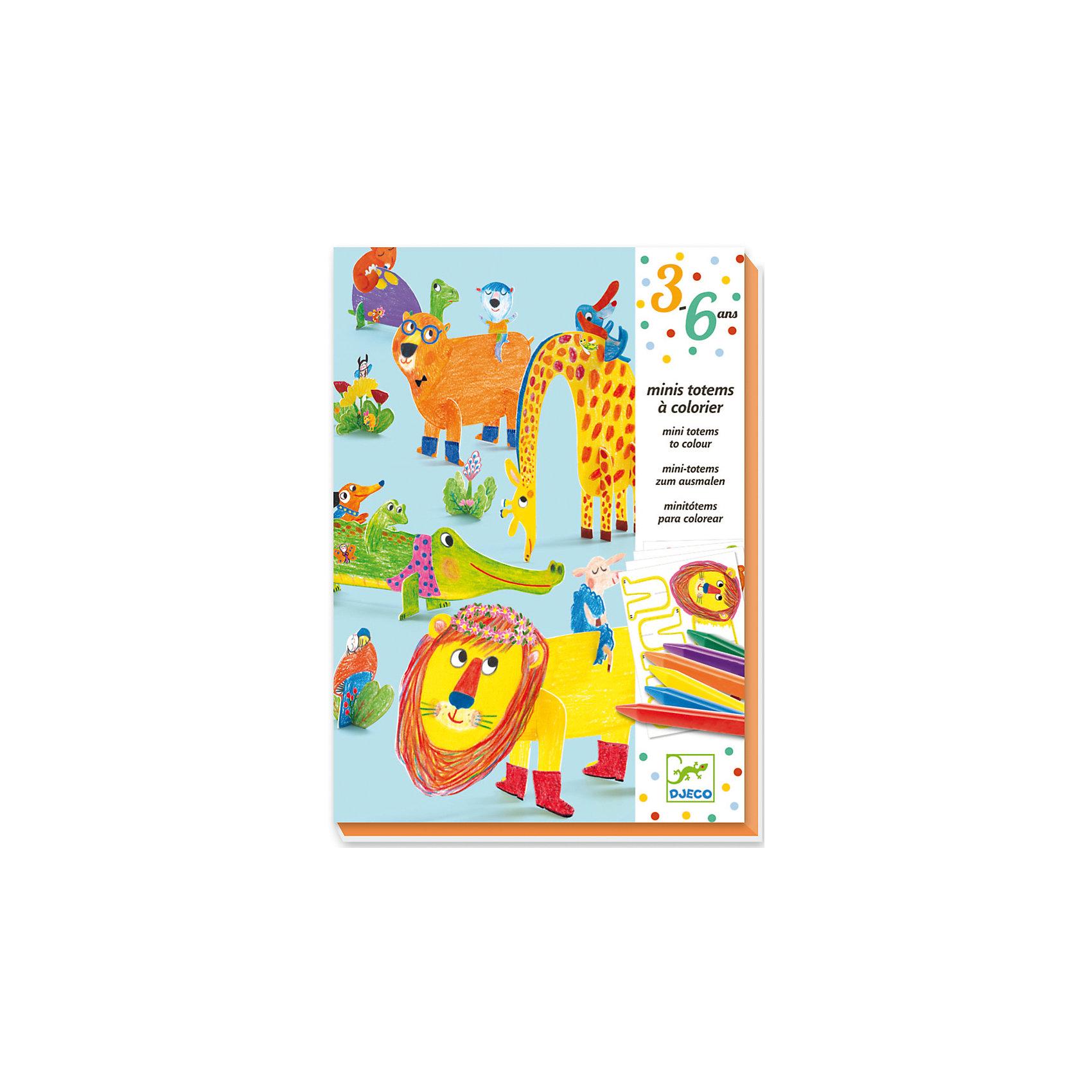 Набор для раскрашивания с карандашами и наклейками ДрузьяНаборы для раскрашивания<br>Превосходный набор для творчества Друзья от французского производителя Djeco поможет раскрыть творческий потенциал вашего ребенка! Детям непременно придется по вкусу этот замечательный набор для творчества. С его помощью они смогут самостоятельно раскрасить мини-изображения забавных и дружелюбных животных. Дети смогут раскрасить изображения, добавить наклейки, выдавить получившееся цветное изображения из листа и придать ему форму. В набор входит: <br>6 листов с животными для раскрашивания и выдавливания,6 цветных карандашей,лист с наклейками,пошаговая инструкция.<br><br>Набор для раскрашивания с карандашами и наклейками Друзья можно купить в нашем магазине.<br><br>Ширина мм: 30<br>Глубина мм: 160<br>Высота мм: 230<br>Вес г: 400<br>Возраст от месяцев: 36<br>Возраст до месяцев: 72<br>Пол: Унисекс<br>Возраст: Детский<br>SKU: 4783897