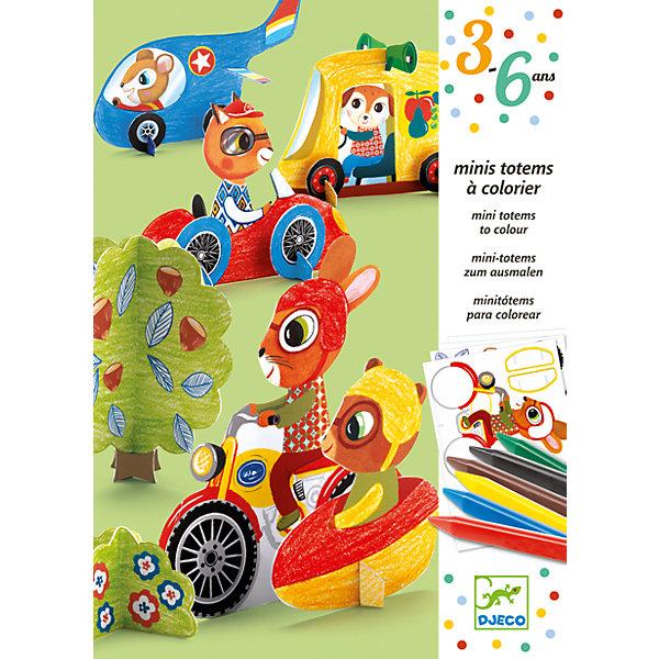 Набор для раскрашивания с мелками и наклейками Би-БиНаборы для раскрашивания<br>Превосходный набор для детского творчества Виконт от французского производителя Djeco станет увлекательным времяпрепровождением для вашего ребенка! <br>Красивый творческий набор для детей, который поможет им создать три красочных изображения, пользуясь переводными картинками, идущими в комплекте. Получившиеся изображения станут украшением детской комнаты! В комплекте 90 картинок, которые можно перенести на 3 иллюстрированных основы. Просто потрите картинку карандашом или тупым концом ручки чтобы перенести ее на фон. В набор входит: 3 основы-фона,3 листа с переводными картинками,пошаговая инструкция. Красочная подробная инструкция с примерами подскажет детям, как нужно работать с изображениями. Набор продается в красивой подарочной коробке. <br>Все детали набора выполнены аккуратно и качественно и безопасны для детей. <br><br>Набор для раскрашивания с мелками и наклейками Би-Би можно купить в нашем магазине.<br><br>Ширина мм: 30<br>Глубина мм: 160<br>Высота мм: 230<br>Вес г: 400<br>Возраст от месяцев: 36<br>Возраст до месяцев: 72<br>Пол: Унисекс<br>Возраст: Детский<br>SKU: 4783898