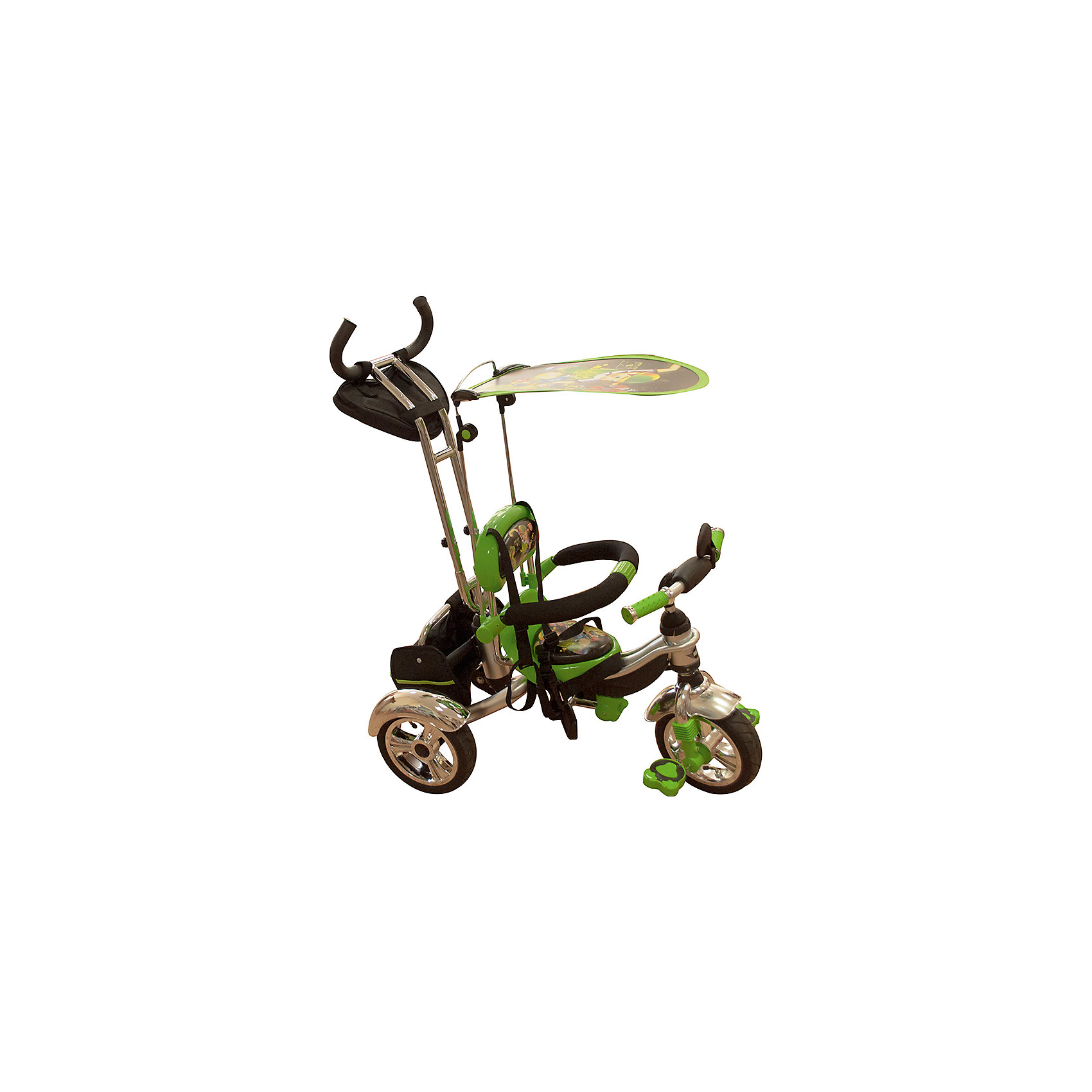 Фото - Велосипед трехколесный, зеленый, MARS TRIKE
