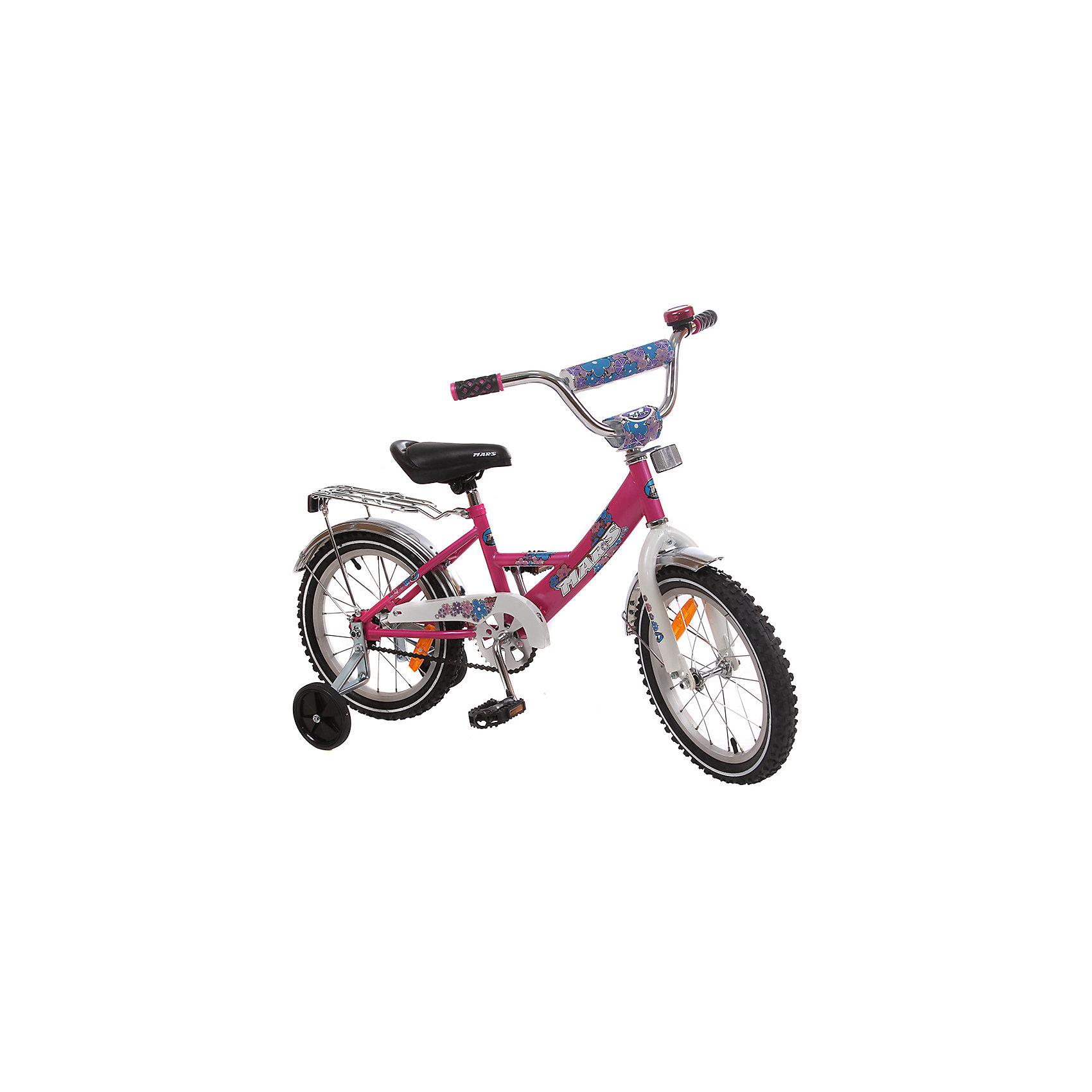 Велосипед с корзиной, MARS, темно-розовыйВелосипеды детские<br><br><br>Ширина мм: 600<br>Глубина мм: 600<br>Высота мм: 1000<br>Вес г: 13000<br>Возраст от месяцев: 36<br>Возраст до месяцев: 84<br>Пол: Унисекс<br>Возраст: Детский<br>SKU: 4785493
