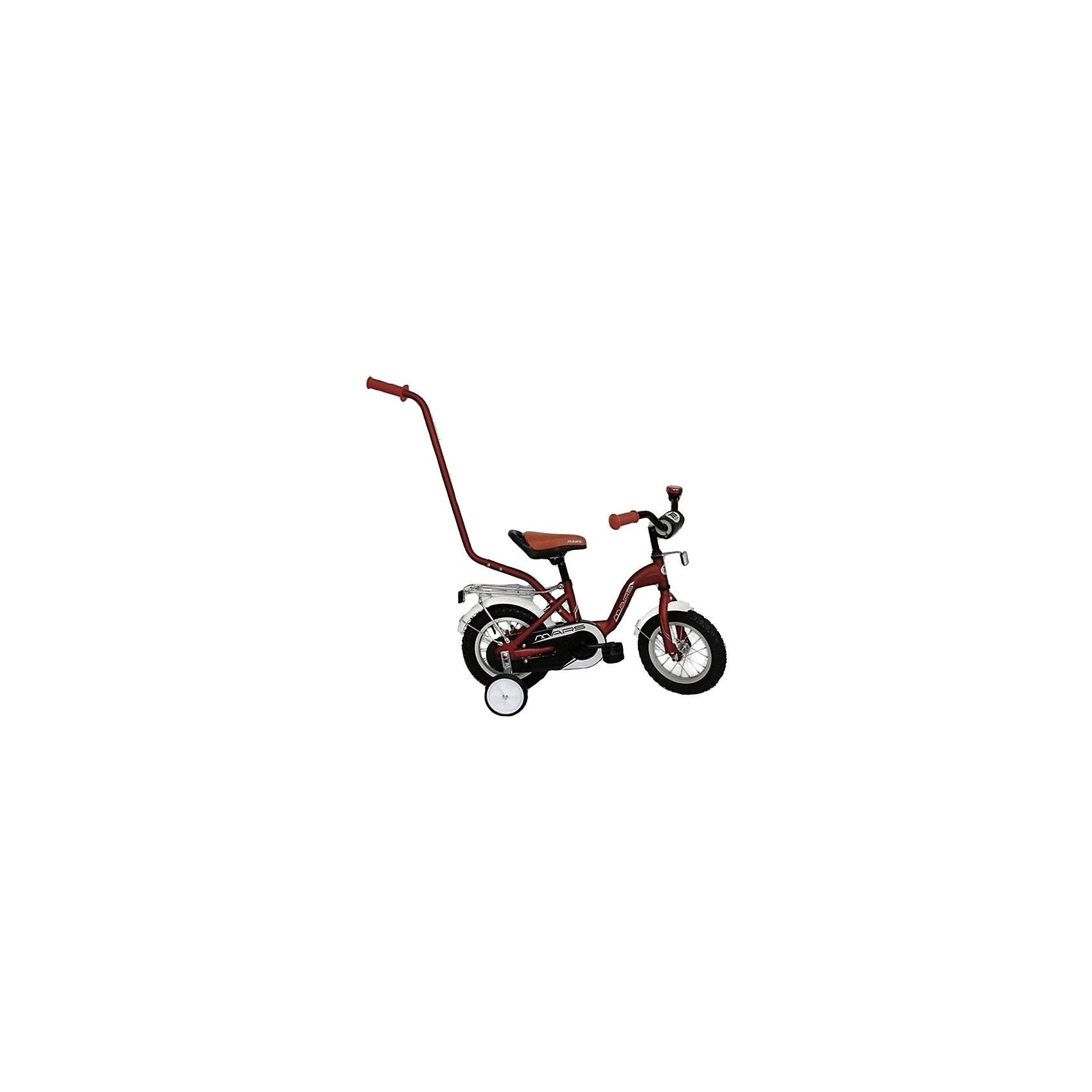 Велосипед, NEW MARS, коричневыйВелосипеды детские<br><br><br>Ширина мм: 500<br>Глубина мм: 500<br>Высота мм: 1000<br>Вес г: 10000<br>Возраст от месяцев: 24<br>Возраст до месяцев: 60<br>Пол: Унисекс<br>Возраст: Детский<br>SKU: 4785494
