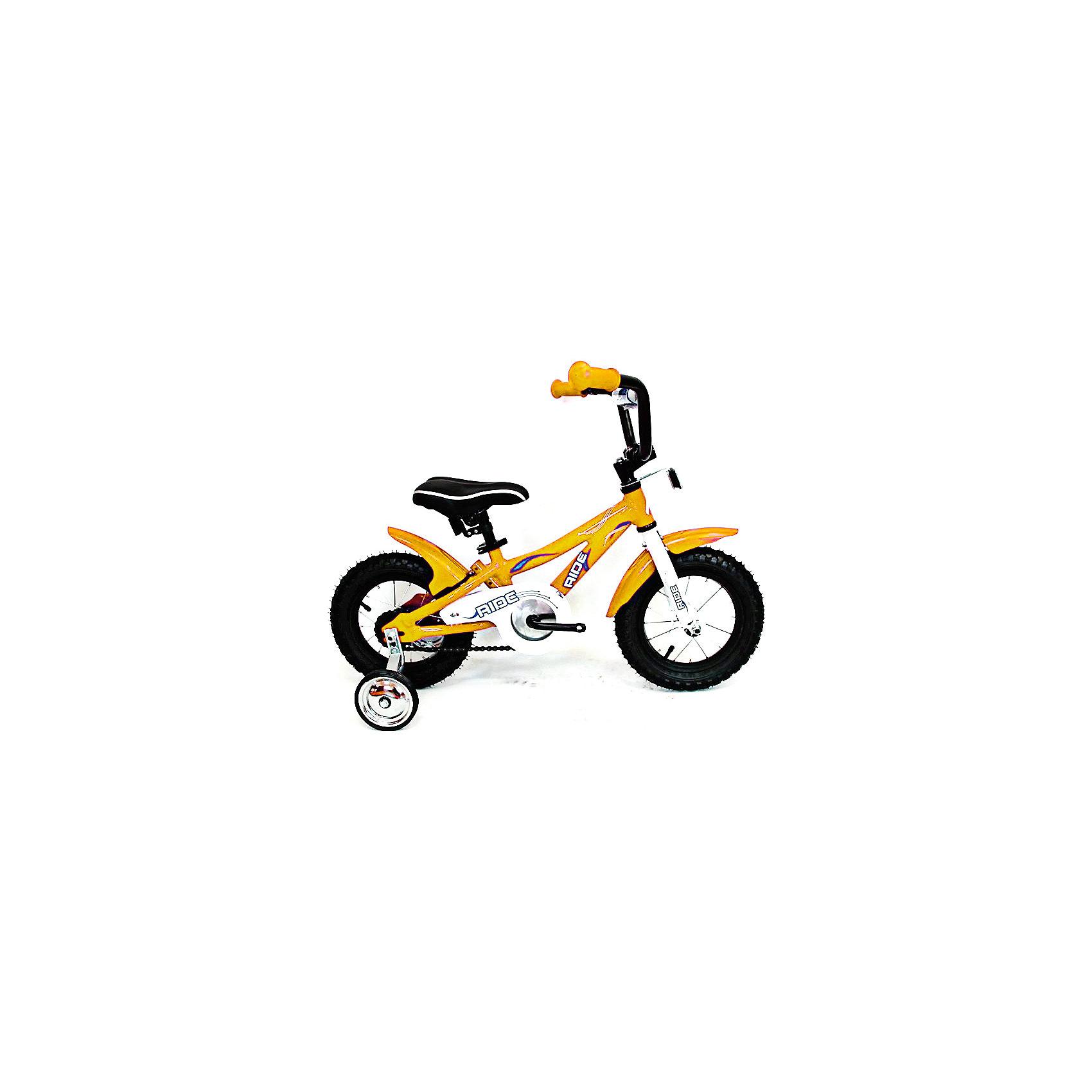 - Велосипед RIDE, MARS, желтый велосипед geuther велосипед minibike 2 в 1 желтый