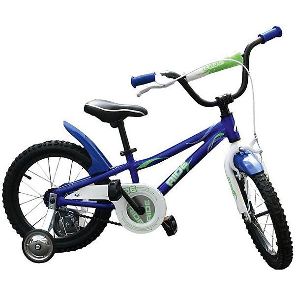 Велосипед RIDE, MARS, синийВелосипеды детские<br>Характеристики товара:<br><br>• возраст: от 3 лет;<br>• материал: алюминий, пластик;<br>• тип колес: надувные;<br>• диаметр колес: 16 дюймов;<br>• регулировка сидения по высоте;<br>• вес велосипеда: 11 кг;<br>• страна производитель: Китай.<br><br>Велосипед Mars Ride синий способствует физическому развитию, укреплению мышц ног. Для малышей, которые только учатся кататься, предусмотрены 2 задних опорных колеса для лучшей устойчивости. Их можно снять, когда ребенок научится держать равновесие. <br><br>Высота сидения регулируется под рост ребенка. Педали имеют рифленую поверхность, чтобы ножки не соскальзывали во время катания. Надувные колеса обеспечивают бесшумную езду. При помощи звонка ребенок сможет предупреждать прохожих. Ручной тормоз на руле гарантирует безопасную езду и быстрое торможение. Рама выполнена из прочного алюминия.<br><br>Велосипед Mars Ride синий можно приобрести в нашем интернет-магазине.<br><br>Ширина мм: 600<br>Глубина мм: 600<br>Высота мм: 1000<br>Вес г: 11200<br>Возраст от месяцев: 36<br>Возраст до месяцев: 84<br>Пол: Унисекс<br>Возраст: Детский<br>SKU: 4785501