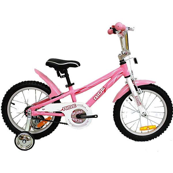 Велосипед RIDE, MARS, светло-розовыйВелосипеды детские<br><br>Ширина мм: 600; Глубина мм: 600; Высота мм: 1000; Вес г: 11200; Возраст от месяцев: 36; Возраст до месяцев: 84; Пол: Унисекс; Возраст: Детский; SKU: 4785504;