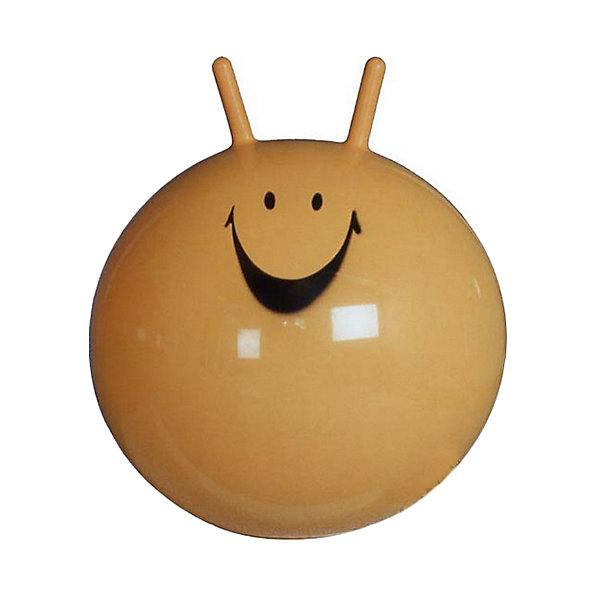 Мяч-прыгун, 55см, желтый, ARPAXМячи детские<br>Характеристики товара:<br><br>• возраст: от 3 лет;<br>• материал: ПВХ;<br>• диаметр мяча: 55 см;<br>• размер упаковки: 20х3х1 см;<br>• вес упаковки: 800 гр.;<br>• страна производитель: Польша.<br><br>Мяч-прыгун Arpax 55 см желтый способствует физическому развитию, укреплению мышц, формирует правильную осанку, развивает координацию движений и учит держать равновесие. Мяч украшен забавной мордочкой с рожками, за которые удобно держаться во время прыжков.<br><br>Мяч-прыгун Arpax 55 см желтый можно приобрести в нашем интернет-магазине.<br><br>Ширина мм: 550<br>Глубина мм: 550<br>Высота мм: 550<br>Вес г: 750<br>Возраст от месяцев: 36<br>Возраст до месяцев: 120<br>Пол: Унисекс<br>Возраст: Детский<br>SKU: 4785521