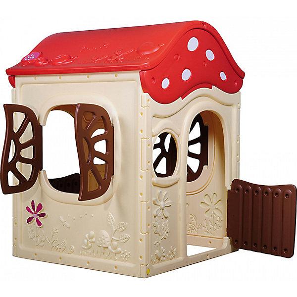 Игровой дом Грибок-теремок, 101x100x130 см, CHING CHINGДомики и мебель<br>Характеристики товара:<br><br>• возраст: от 2 лет;<br>• материал: пластик;<br>• размер домика: 101x100x130 см;<br>• размер упаковки: 132х116х25 см;<br>• вес упаковки: 14 кг;<br>• страна производитель: Тайвань.<br><br>Игровой дом «Грибок-теремок» Ching Ching станет уютным местом для игр. Куда ребенок сможет пригласить своих друзей. Домик подойдет для игр на свежем воздухе. У домика открываются дверца и окошки. Он выполнен из качественного прочного пластика, не имеет острых деталей.<br><br>Игровой дом «Грибок-теремок» Ching Ching можно приобрести в нашем интернет-магазине.<br><br>Ширина мм: 1010<br>Глубина мм: 1000<br>Высота мм: 1300<br>Вес г: 17400<br>Возраст от месяцев: 36<br>Возраст до месяцев: 84<br>Пол: Унисекс<br>Возраст: Детский<br>SKU: 4785538